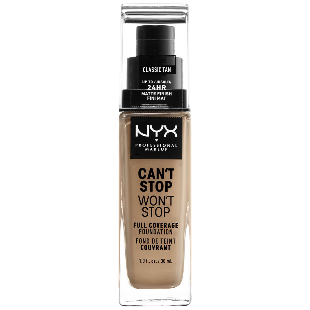 NYX Professional Makeup, Can't Stop Won't Stop Foundation