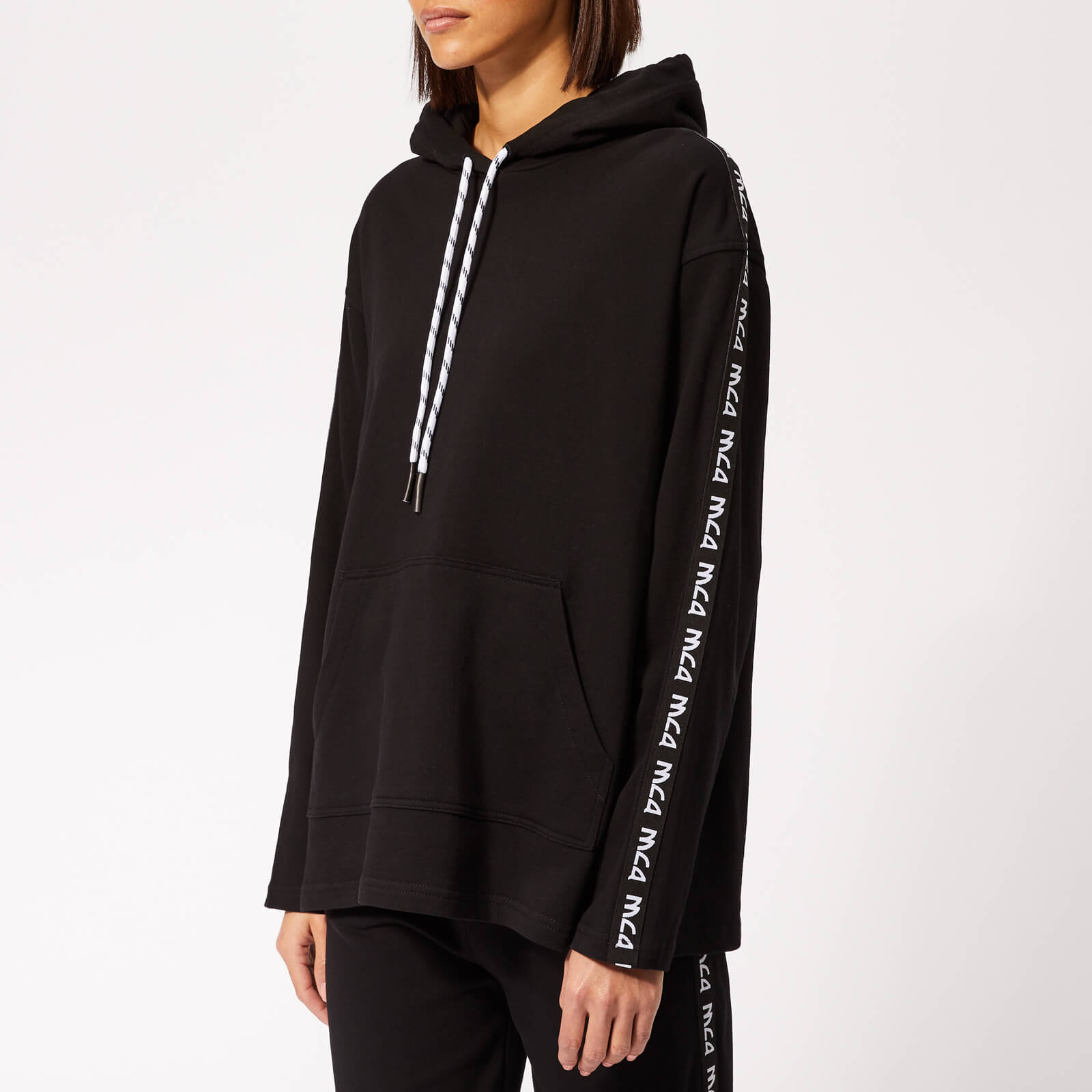 213c02c3 McQ Alexander McQueen Women's Ribless Hoody - Darkest Black - Free UK  Delivery over £50