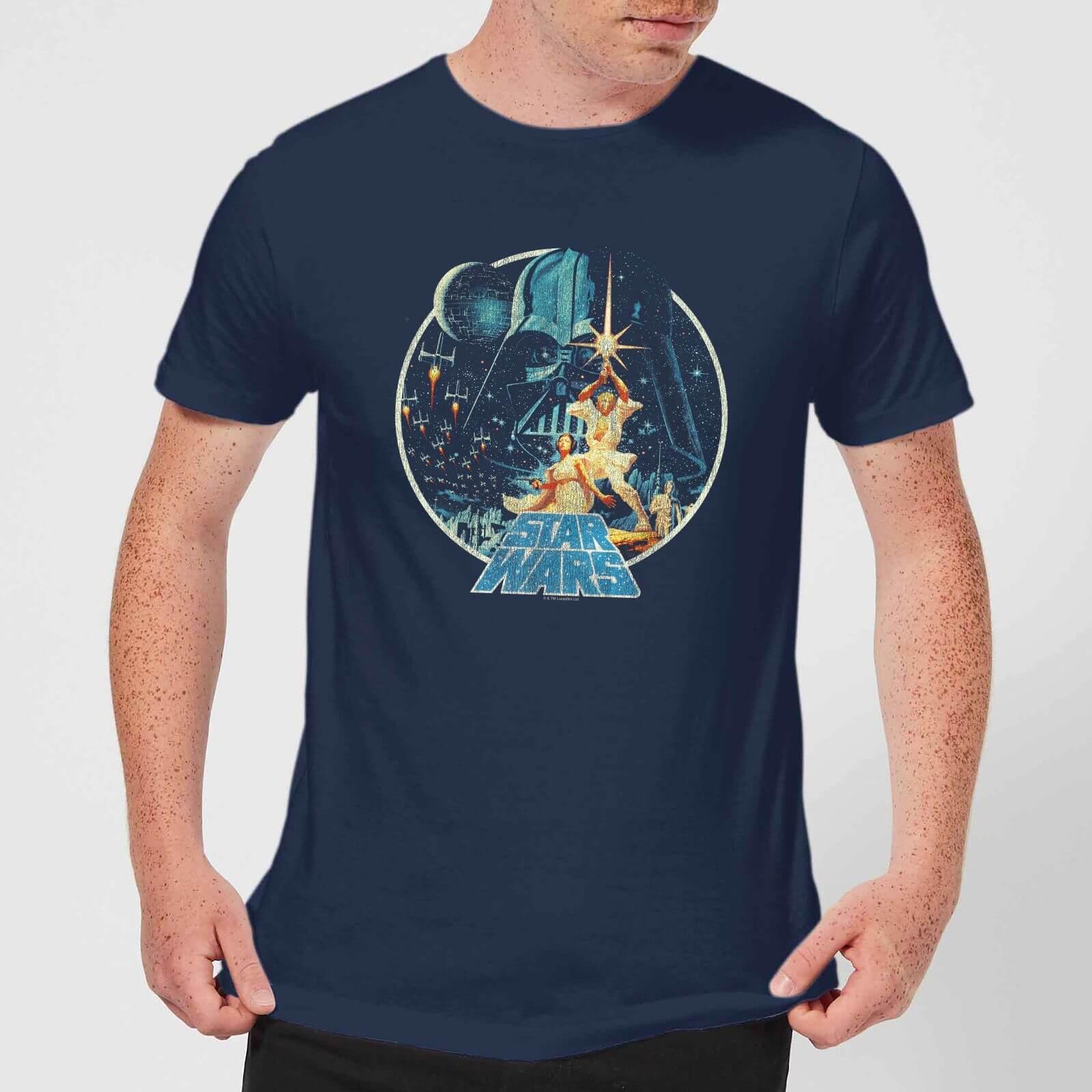 super popular talla 7 marca famosa camisa azul marino con