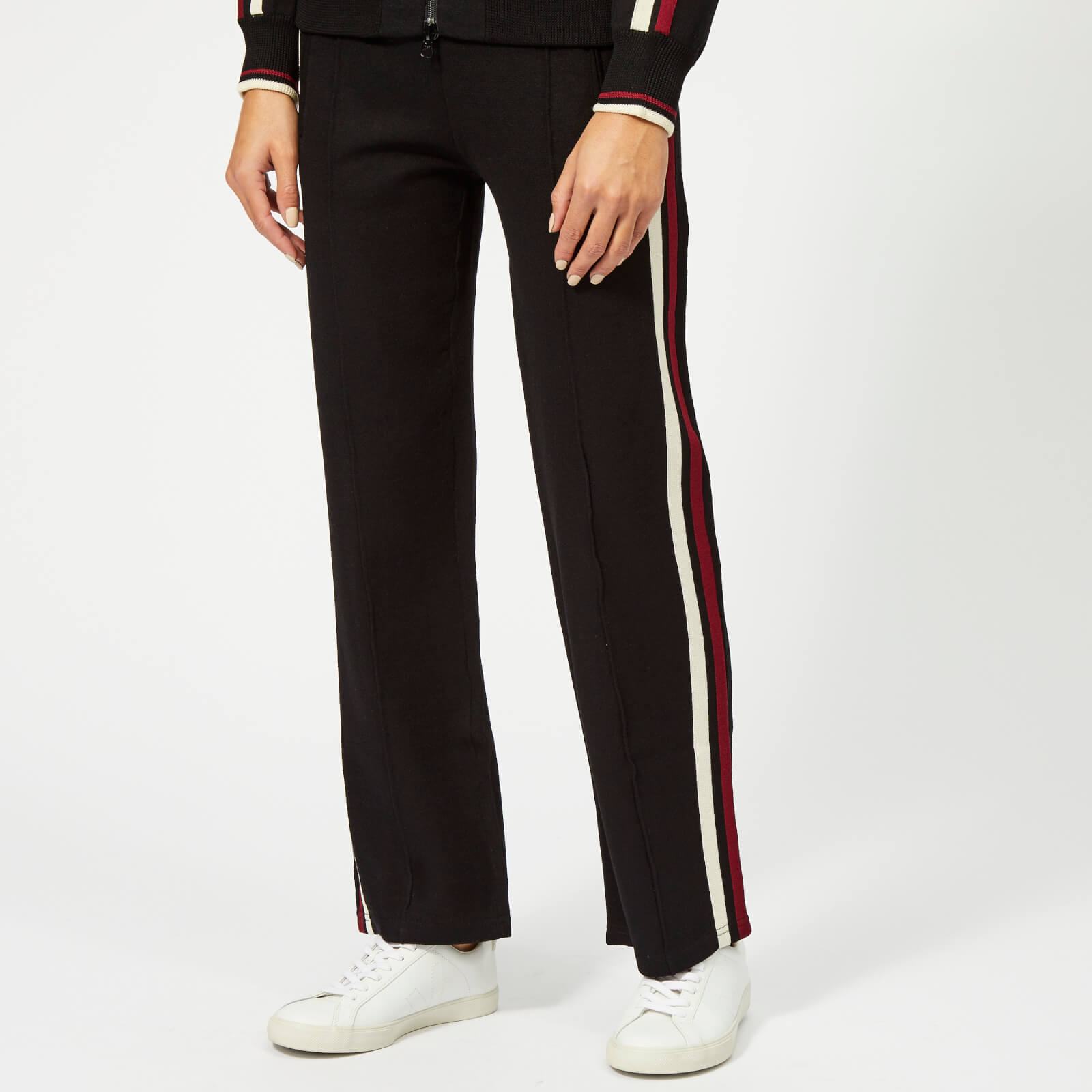 624be4d43e65 Isabel Marant Étoile Women s Dobbs Trousers - Black Burgundy - Free UK  Delivery over £50