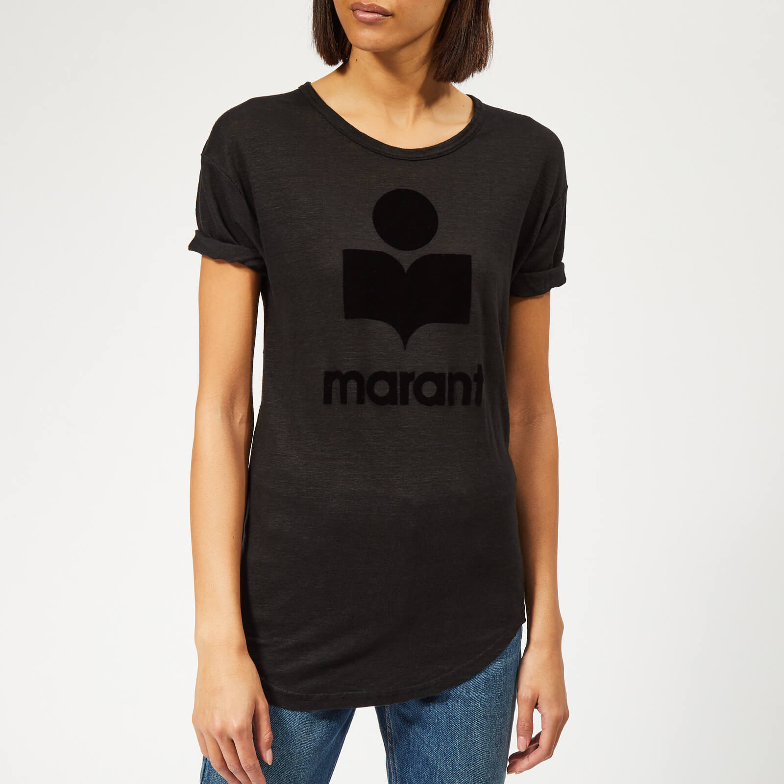 c20b3f328f131 Isabel Marant Étoile Women s Koldi T-Shirt - Black - Free UK Delivery over  £50