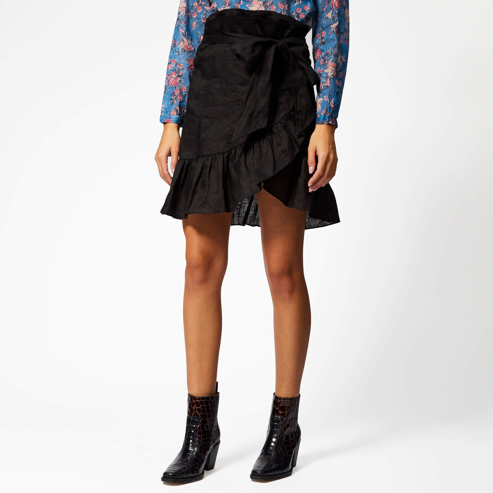 8f18d7d9fce Isabel Marant Étoile Women's Tempster Skirt - Black - Free UK Delivery over  £50