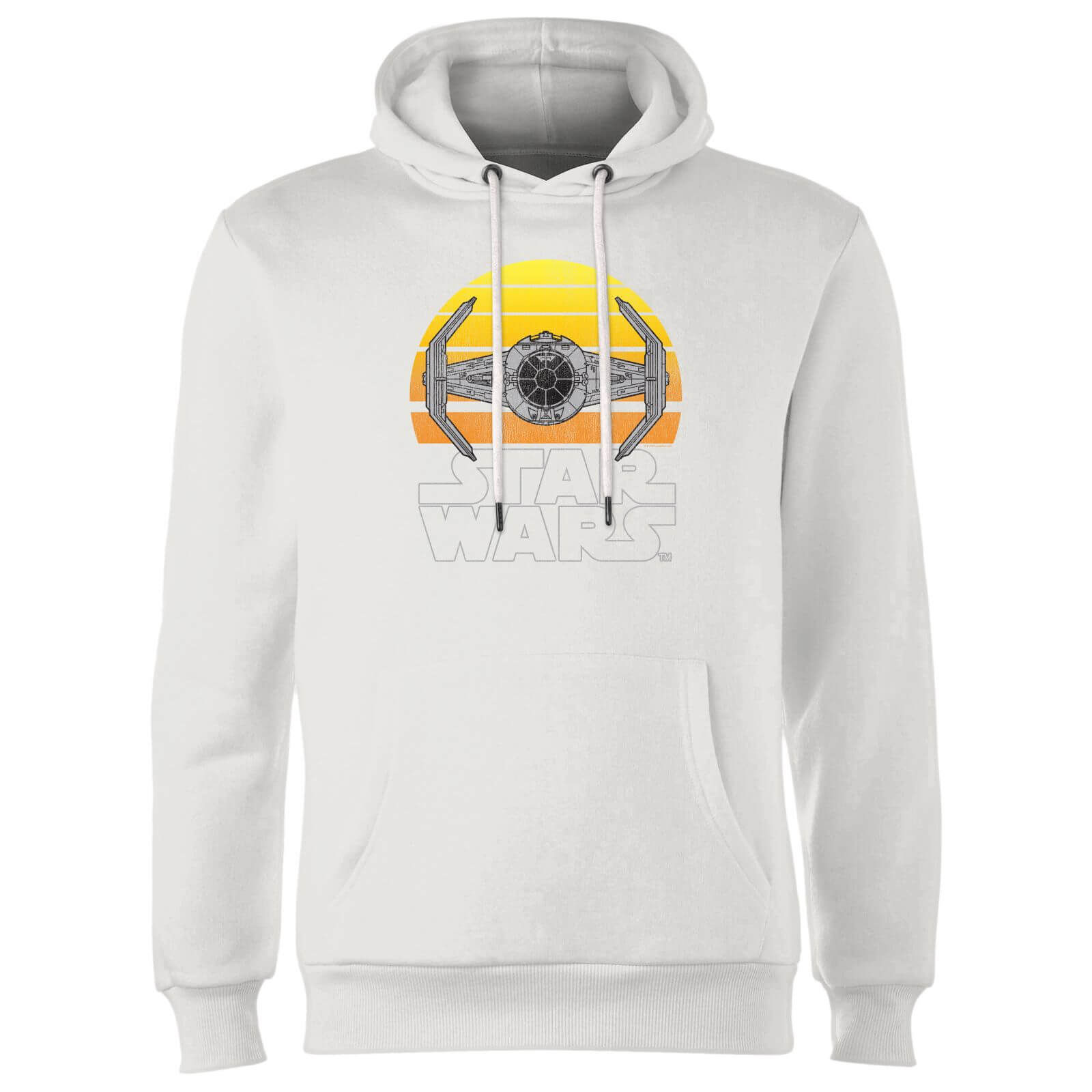Star Wars Classic Star Wars Sunset Tie Hoodie Weiß