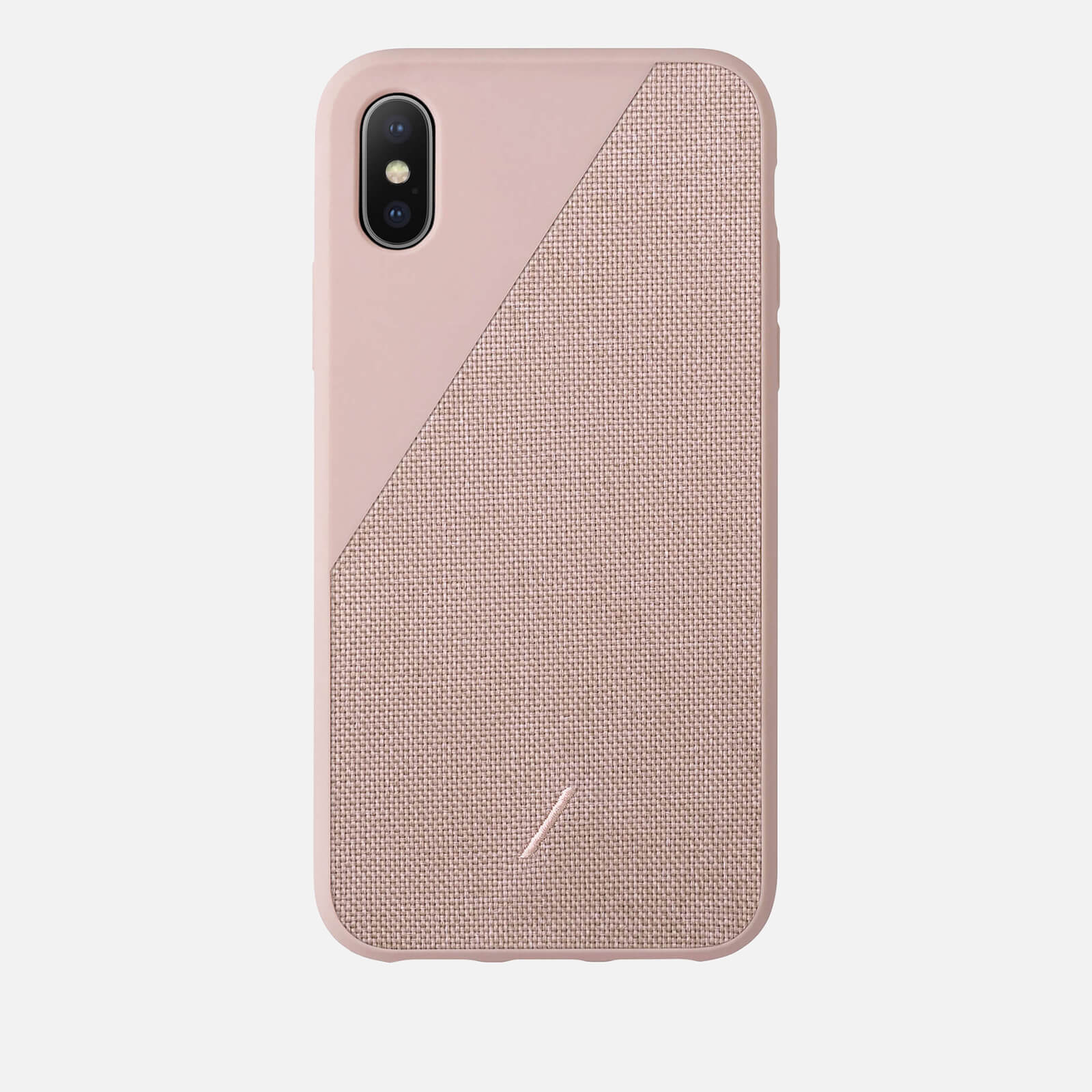 check out daa99 fb822 Native Union Clic Canvas iPhone Xs Case - Rose