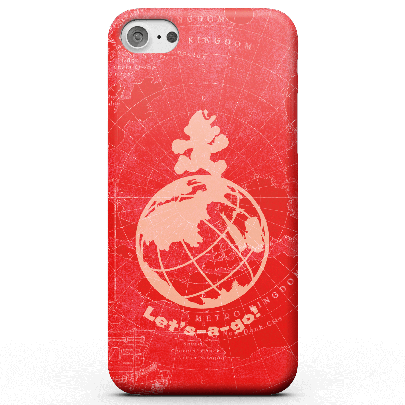 Super Mario Odyssey Lets A Go Phone Case for iPhone and Android