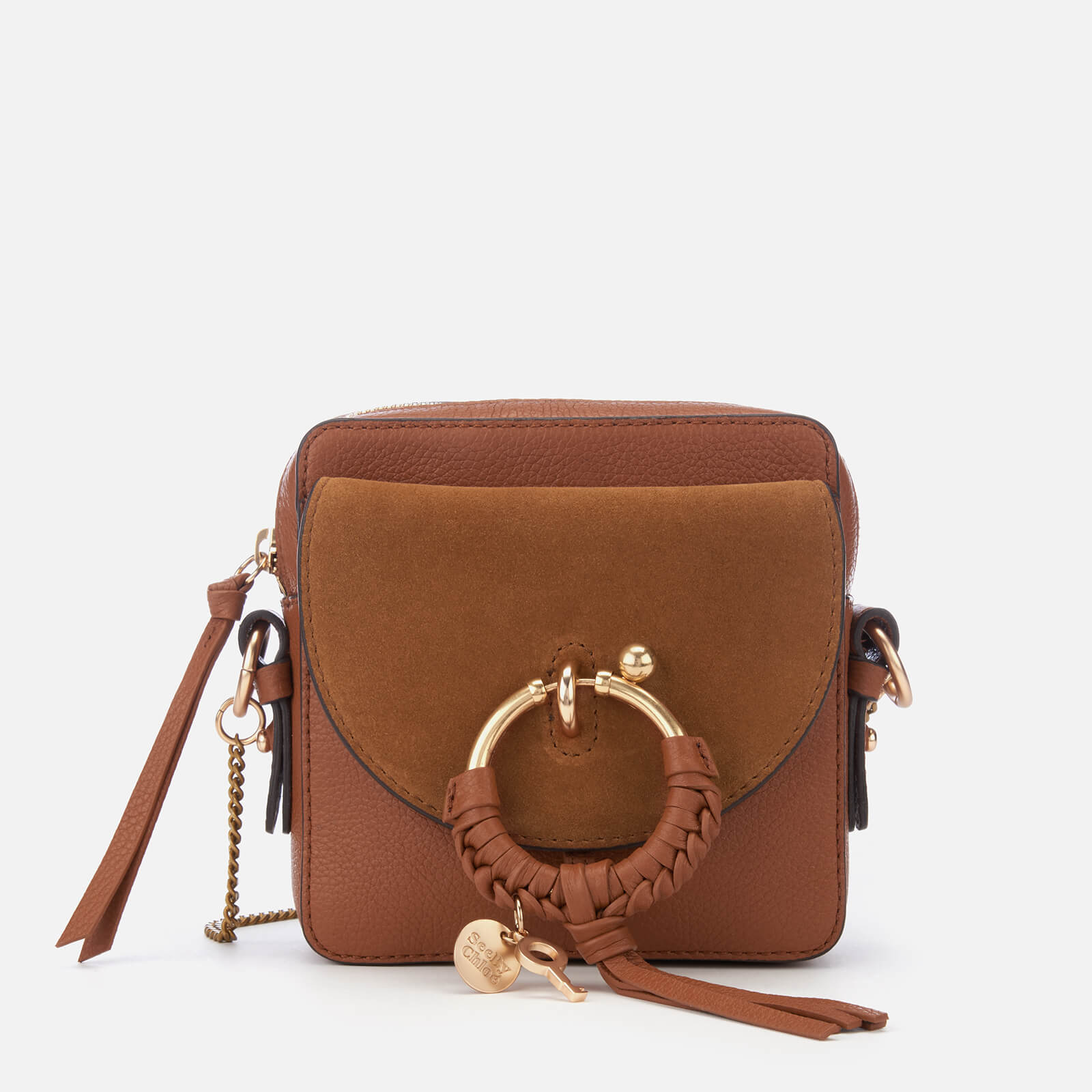 b382fec0aaf1 See By Chloé Women s Joan Small Cross Body Bag - Caramello - Free UK  Delivery over £50
