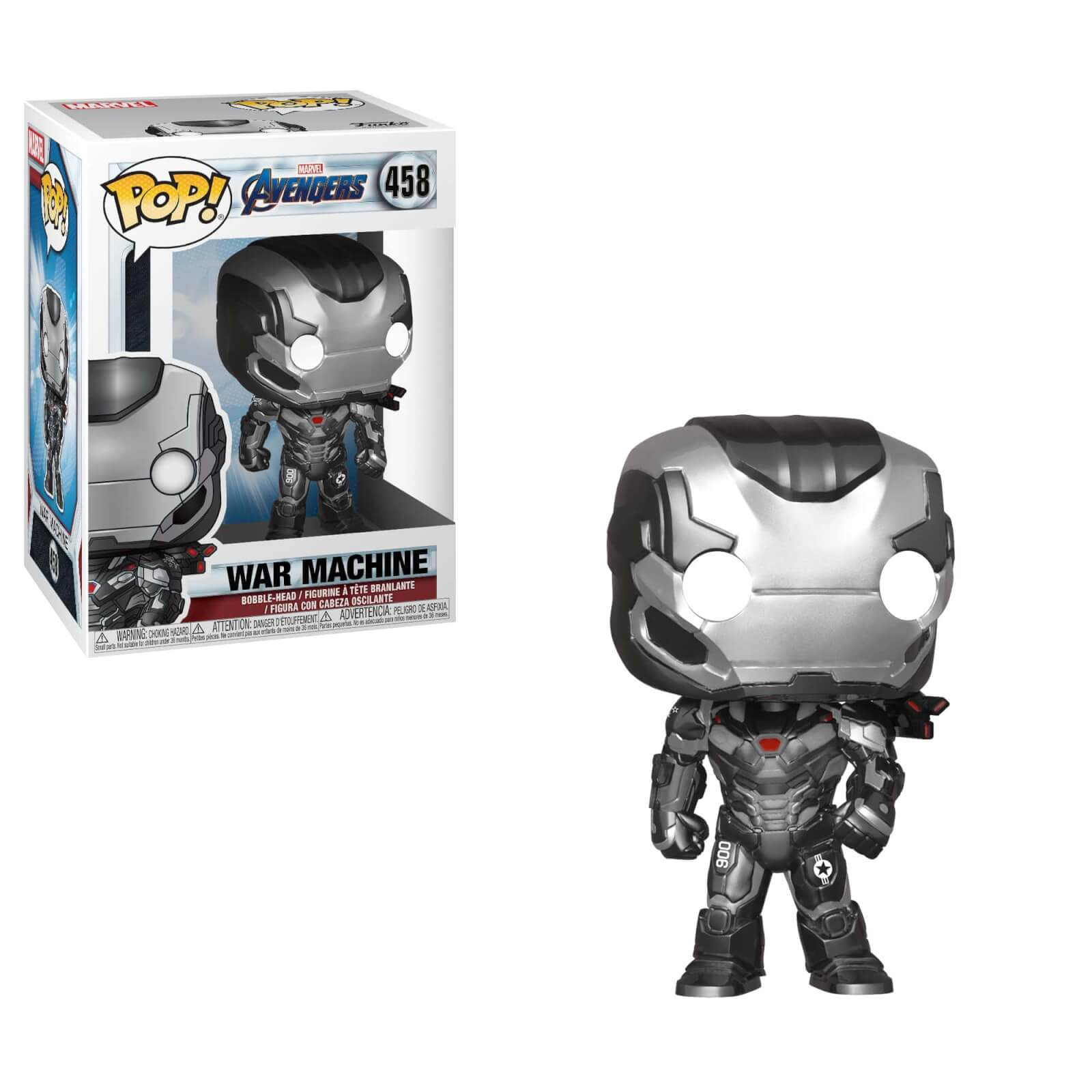 Avengers War Machine Funko POP Bobble-Head Figur
