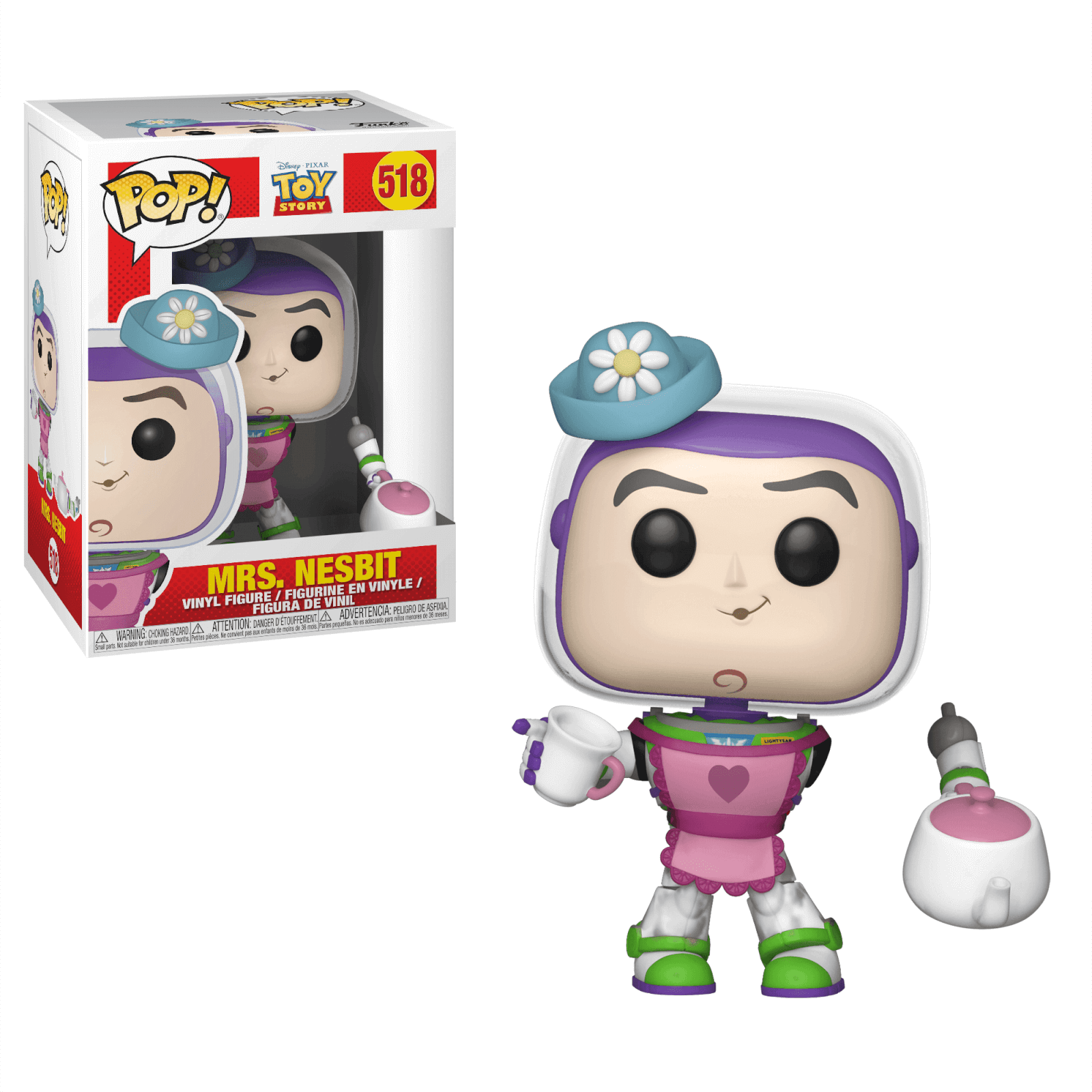 85c3edf773739 Figura Funko Pop! Sra. Nesbitt - Toy Story Merchandise