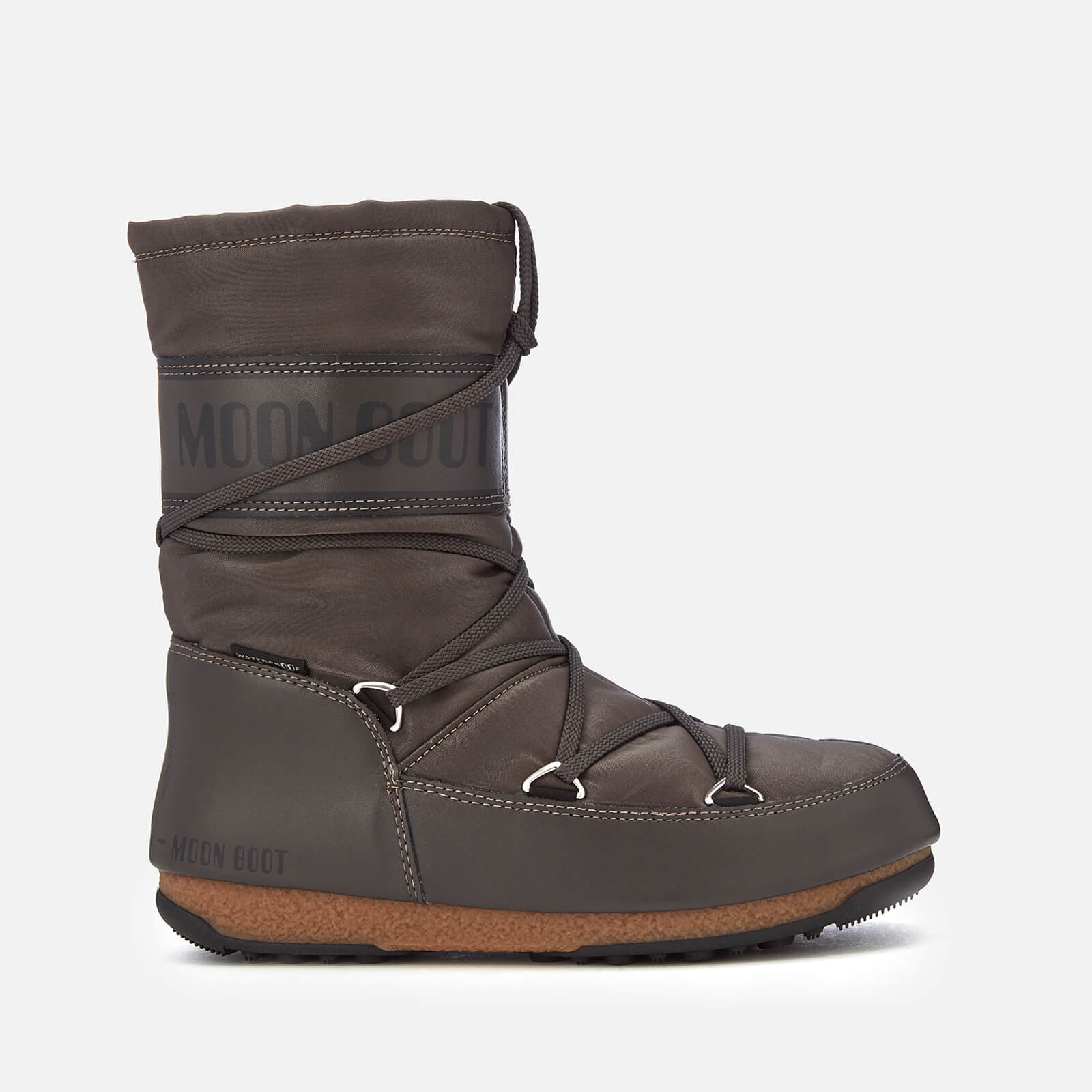 separation shoes abab5 662f8 Moon Boot Women's Soft Shade Mid Waterproof Boots - Anthracite