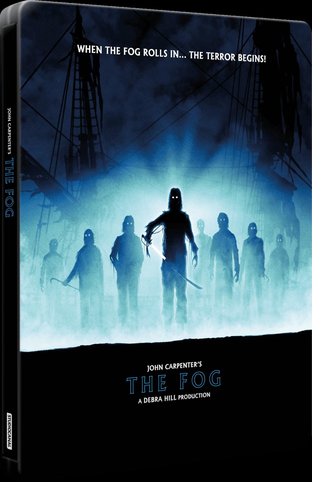 The Fog 4k Ultra Hd Amp Blu Ray Zavvi Exclusive Steelbook