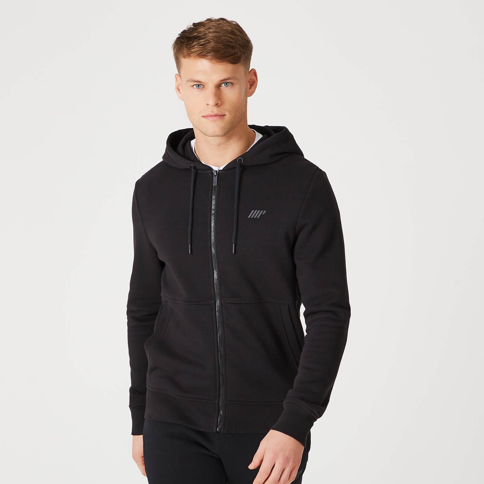 Tru Fit Zip Up Hoodie 2.0 Black