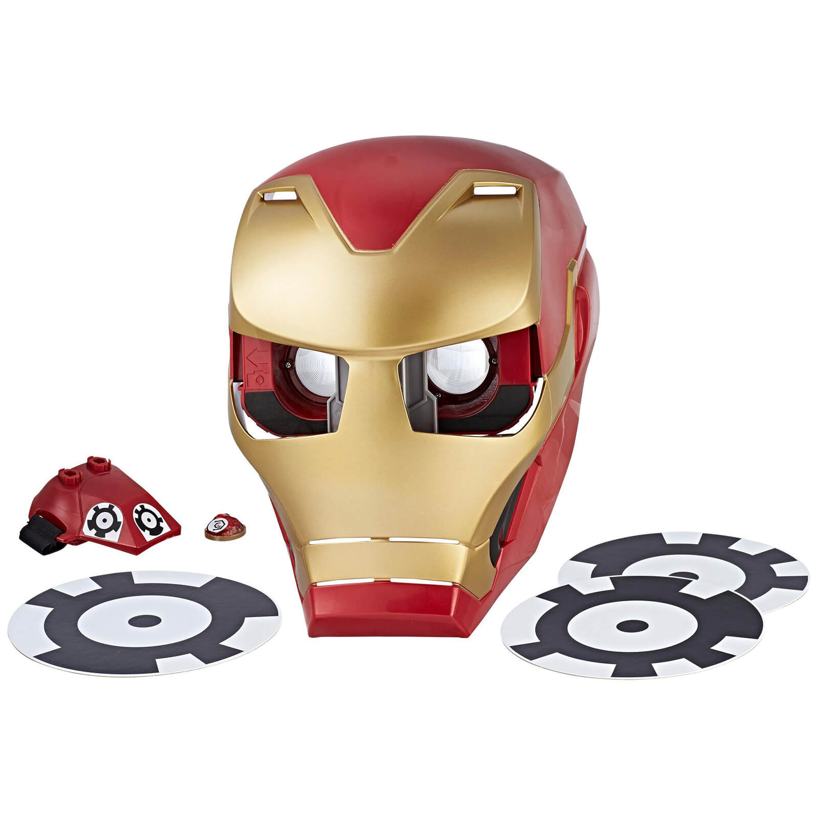 Marvel Avengers Infinity War Hero Vision AR Iron Man Mask