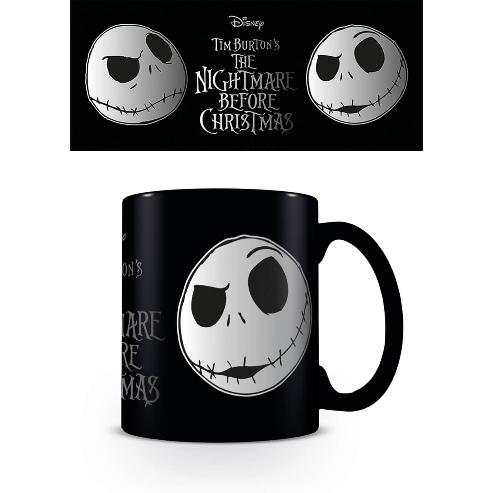 Nightmare Before Christmas Coffee Mug.Nightmare Before Christmas Jack Face Coffee Mug