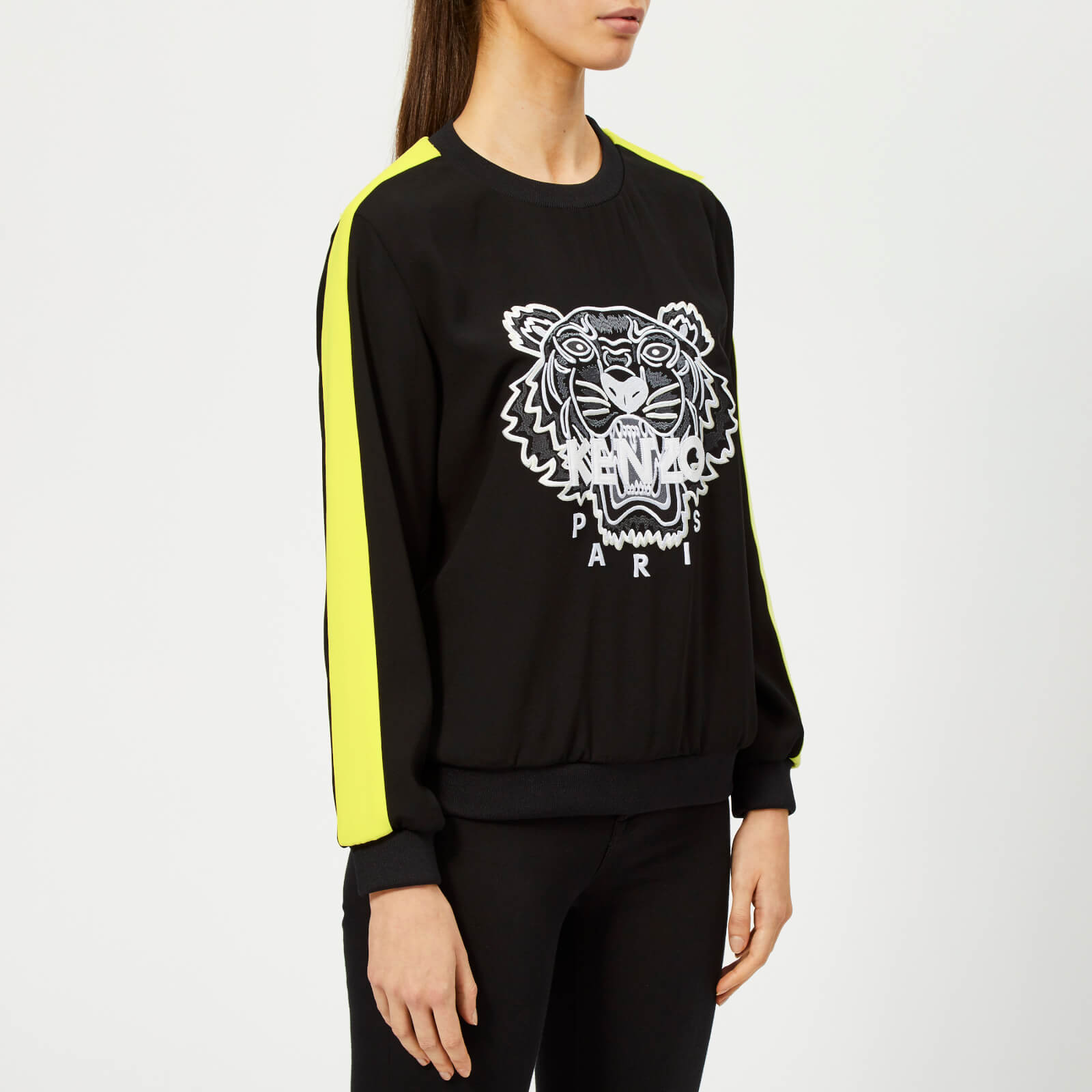 e14c0167 KENZO Women's Soft Sweater Tiger Embroidery - Black - Free UK Delivery over  £50