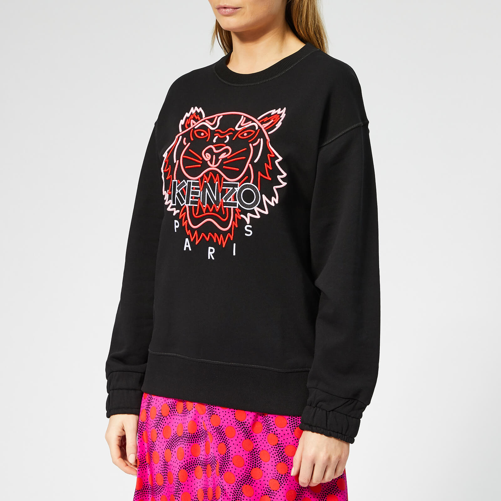 a3c1984c Tops Women`s Neon Tiger Cotton Tee