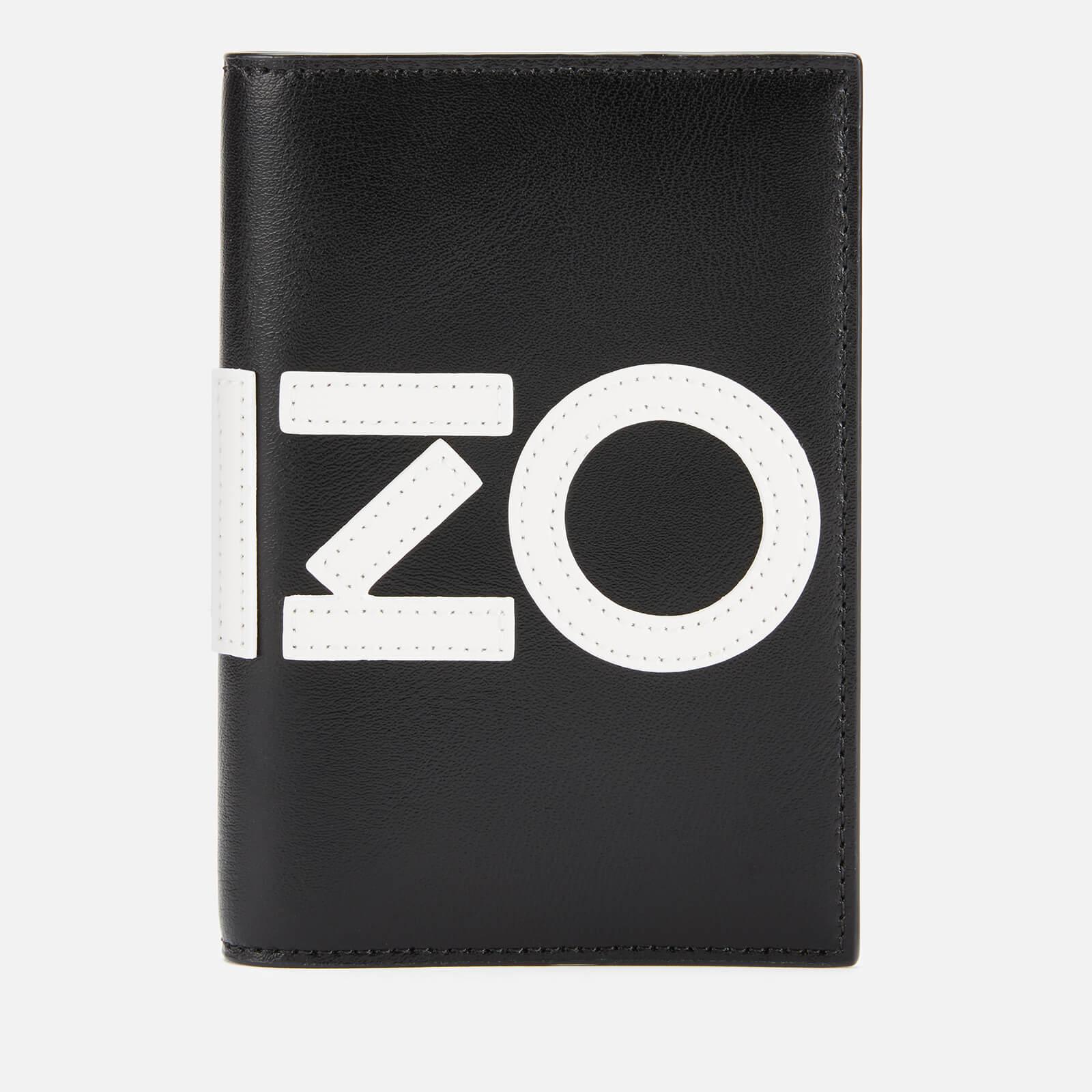 uk availability 91c6f 50973 KENZO Men's Passport Holder - Black