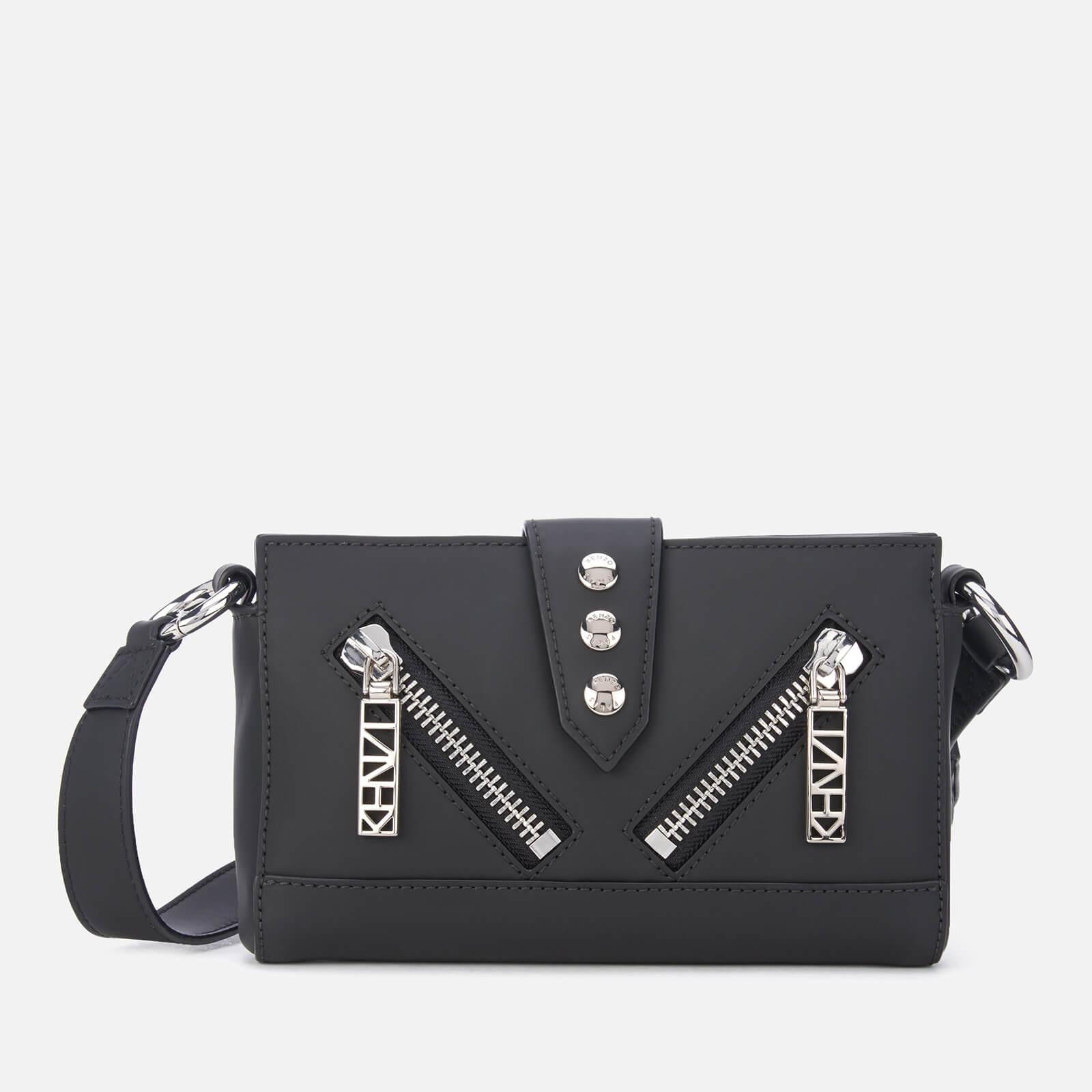 bd3185088e2 KENZO Women's Kalifornia Zip Bumbag - Black - Free UK Delivery over £50