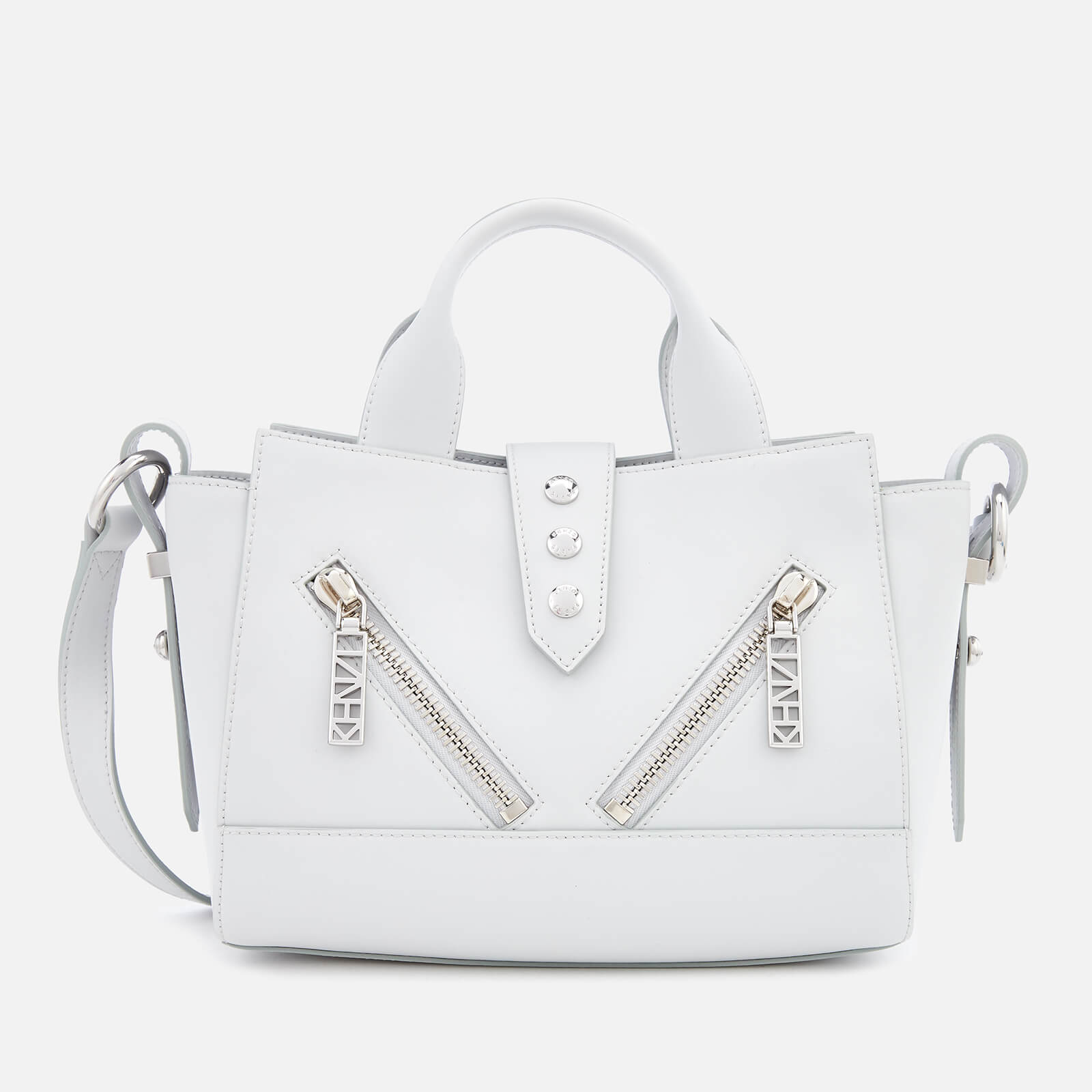 6a604e9c73a KENZO Women's Mini Kalifornia Tote Bag - Pale Grey - Free UK Delivery over  £50