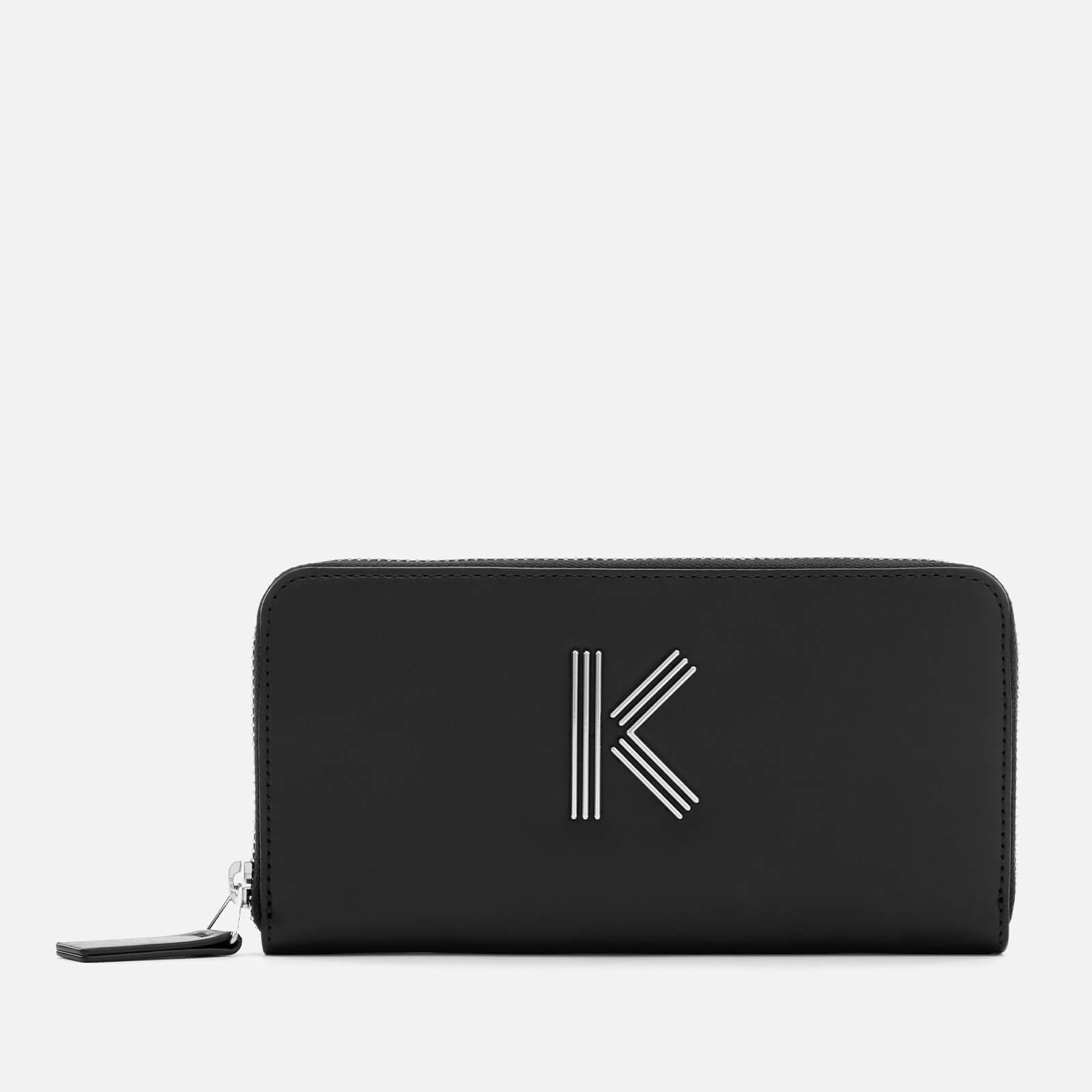 076c3e706575 KENZO Women s Zip Continental Wallet - Black - Free UK Delivery over £50