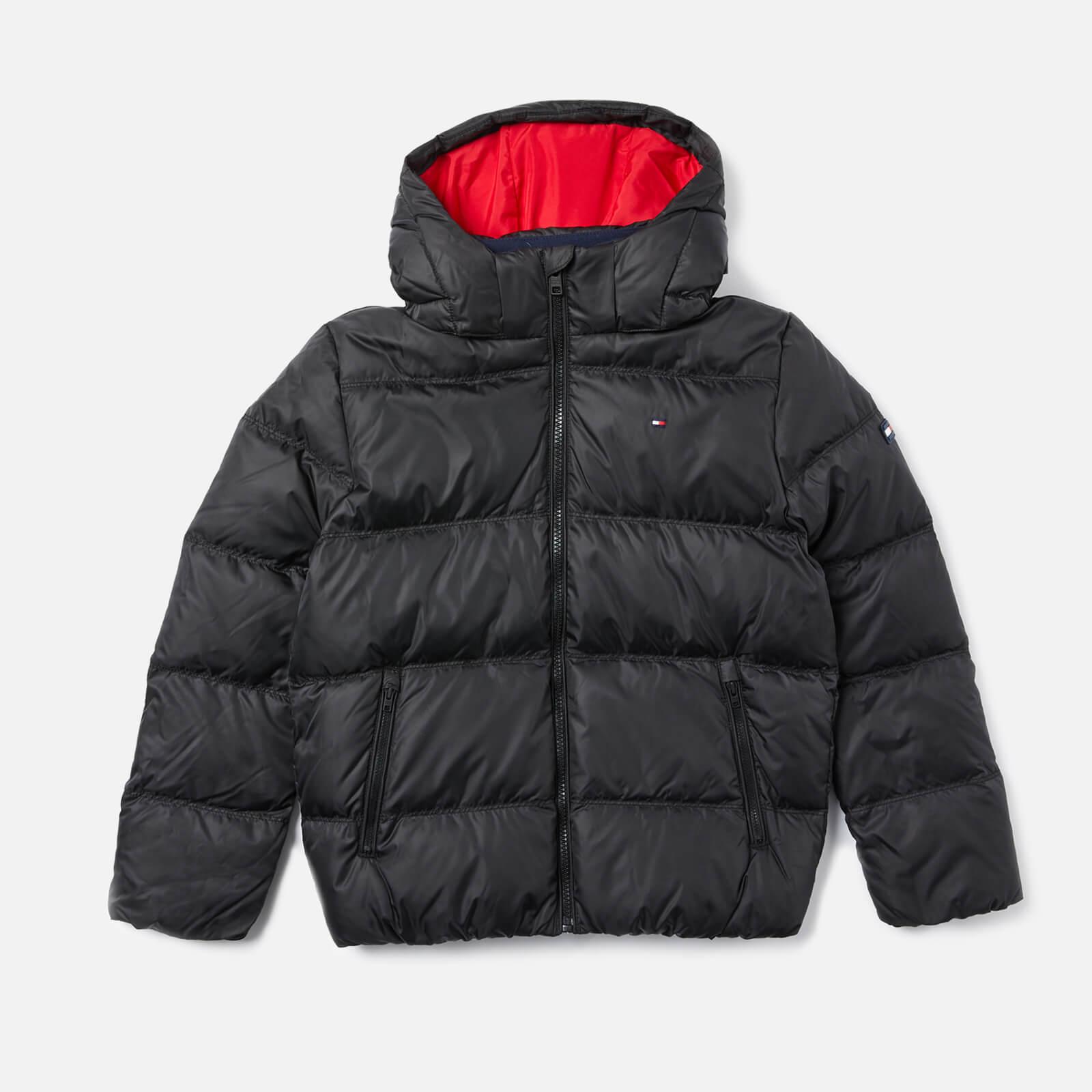 e4673859 Tommy Hilfiger Boys' Essential Basic Padded Jacket - Tommy Black Clothing |  TheHut.com