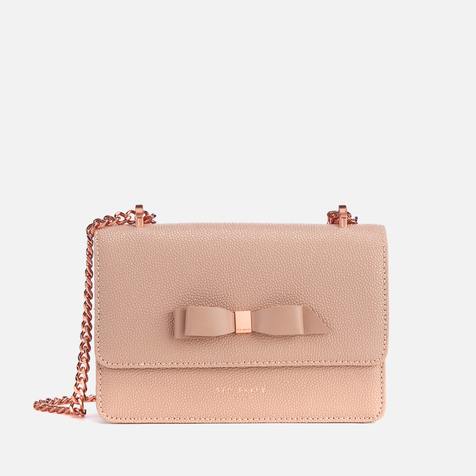 9ffa0500a Ted Baker Women s Jayllaa Bow Detail Micro Cross Body Bag - Taupe Clothing