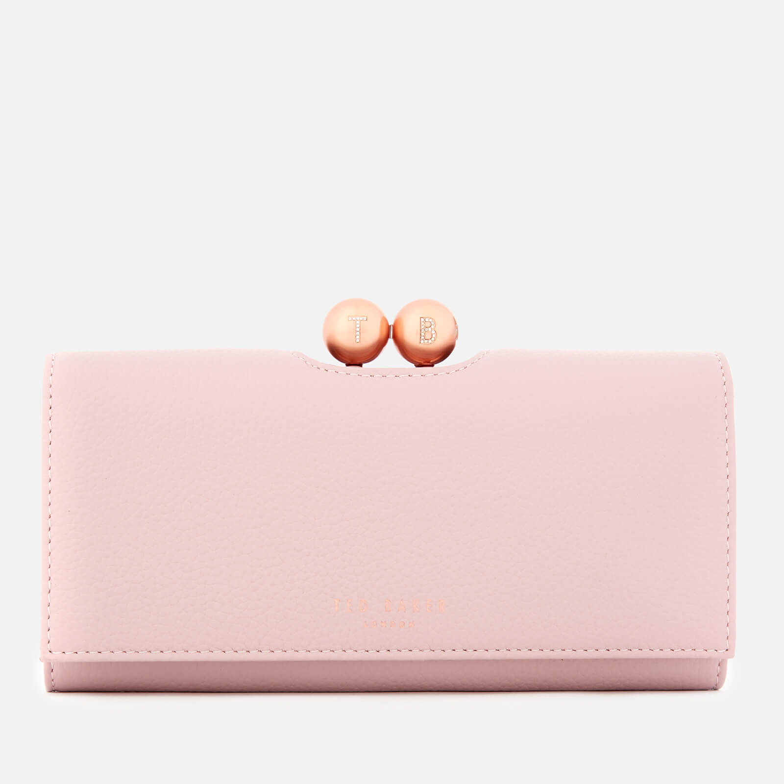 1bb024af Ted Baker Women's Josiey Scripted Bobble Matinee Purse - Pale Pink Womens  Accessories | TheHut.com