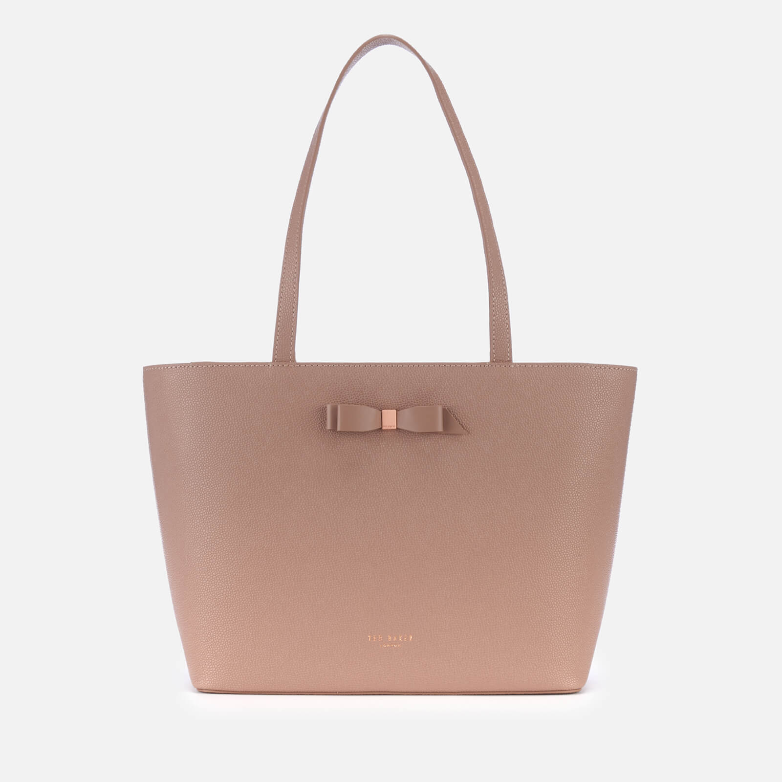 27a534993bf Ted Baker Women's Jjesica Bow Detail Shopper Bag - Taupe Clothing |  TheHut.com