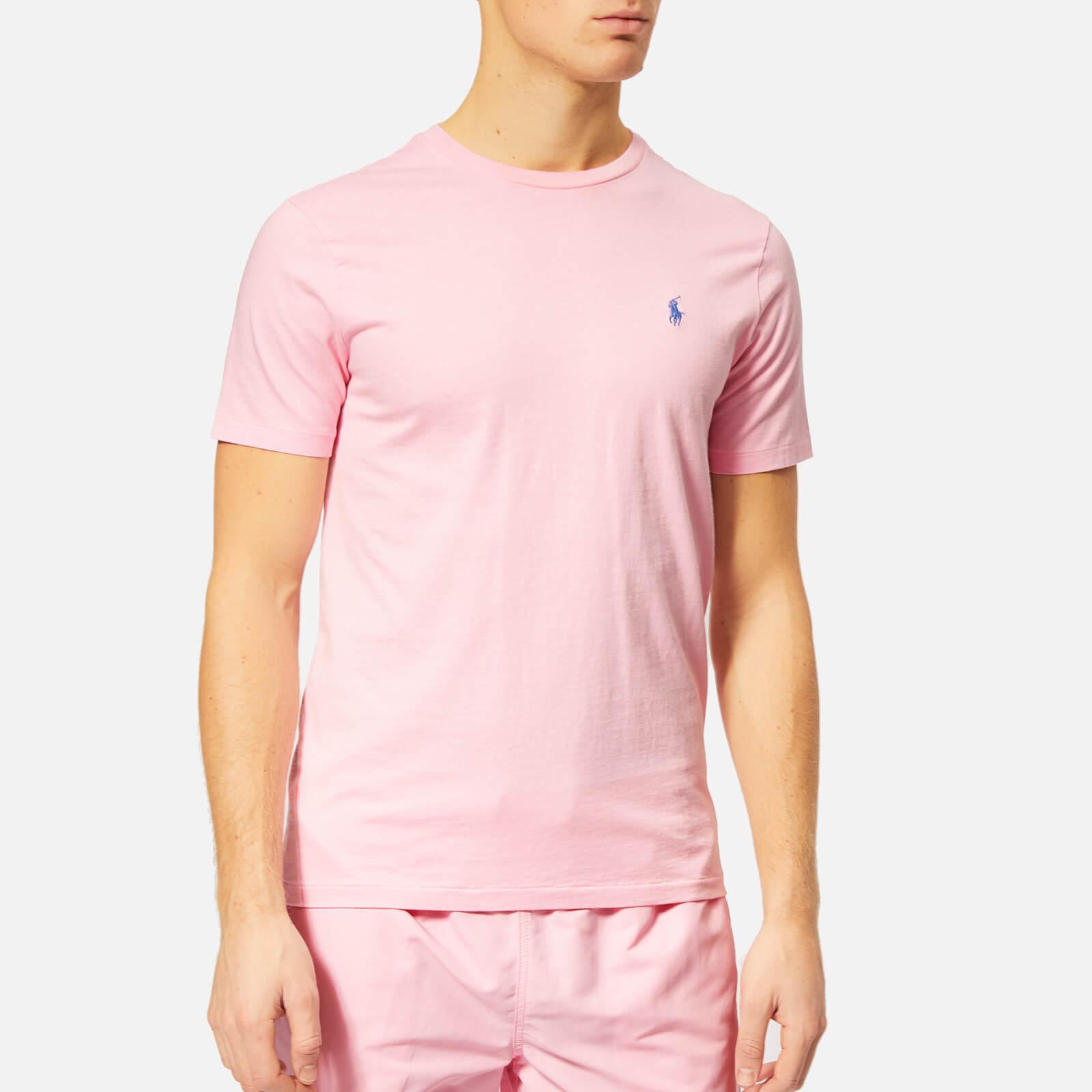 62650c0e Polo Ralph Lauren Men's Custom Slim Fit Crew Neck T-Shirt - Taylor Rose -  Free UK Delivery over £50