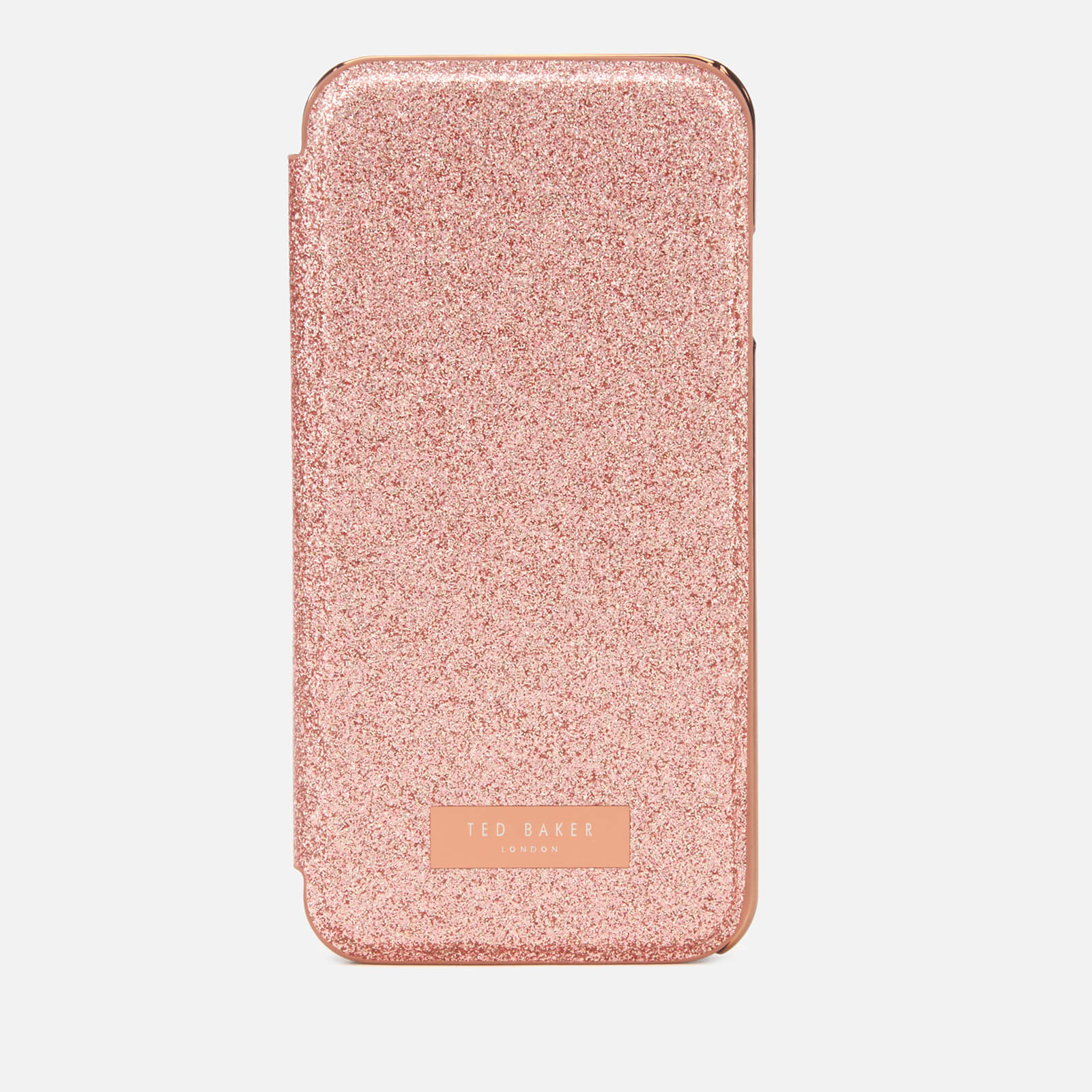 newest collection a0867 b01df Ted Baker Women's Glitsie Glitter iPhone 8 Mirror Case - Baby Pink