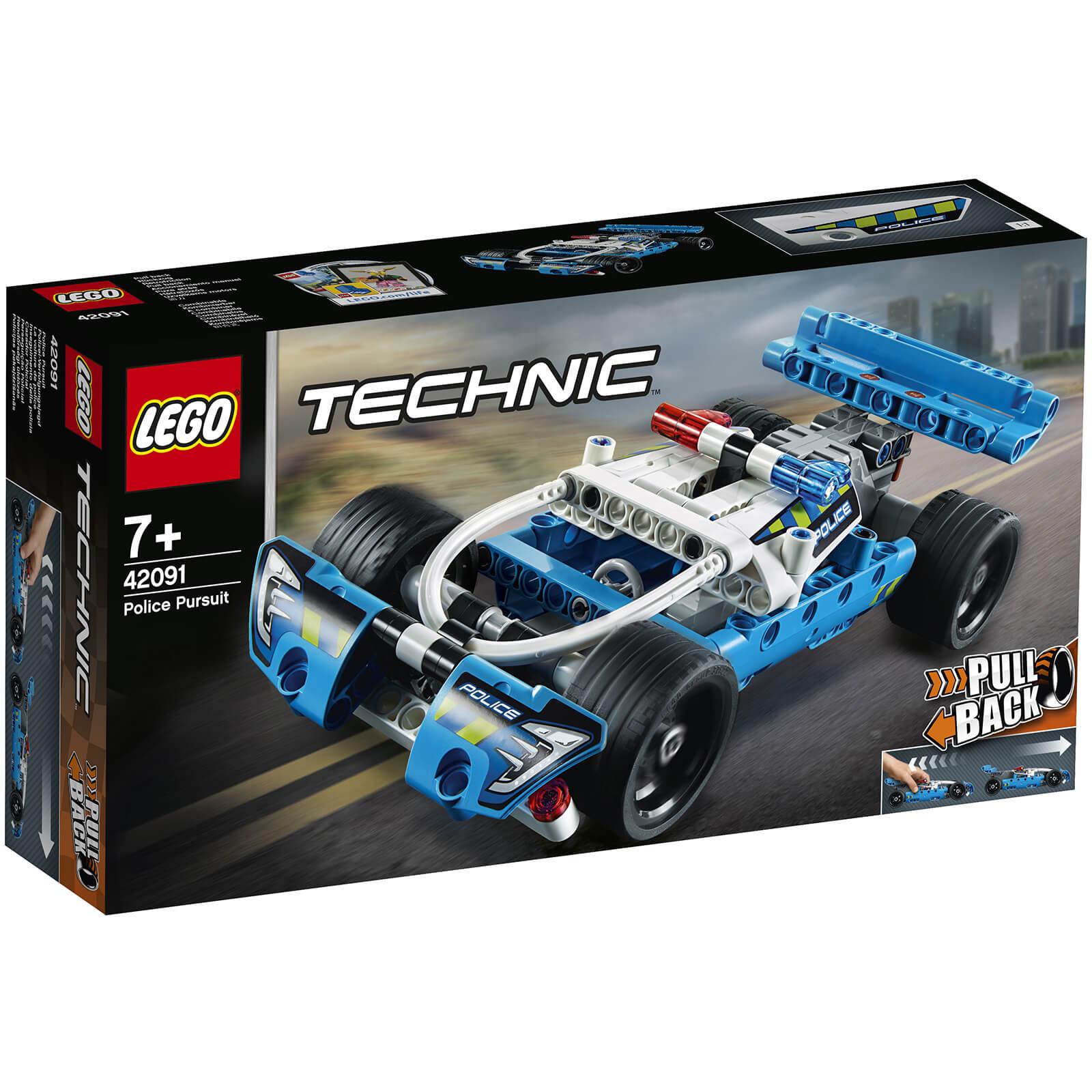 66ec1367e8beb6 LEGO Technic: Police Pursuit (42091)   IWOOT