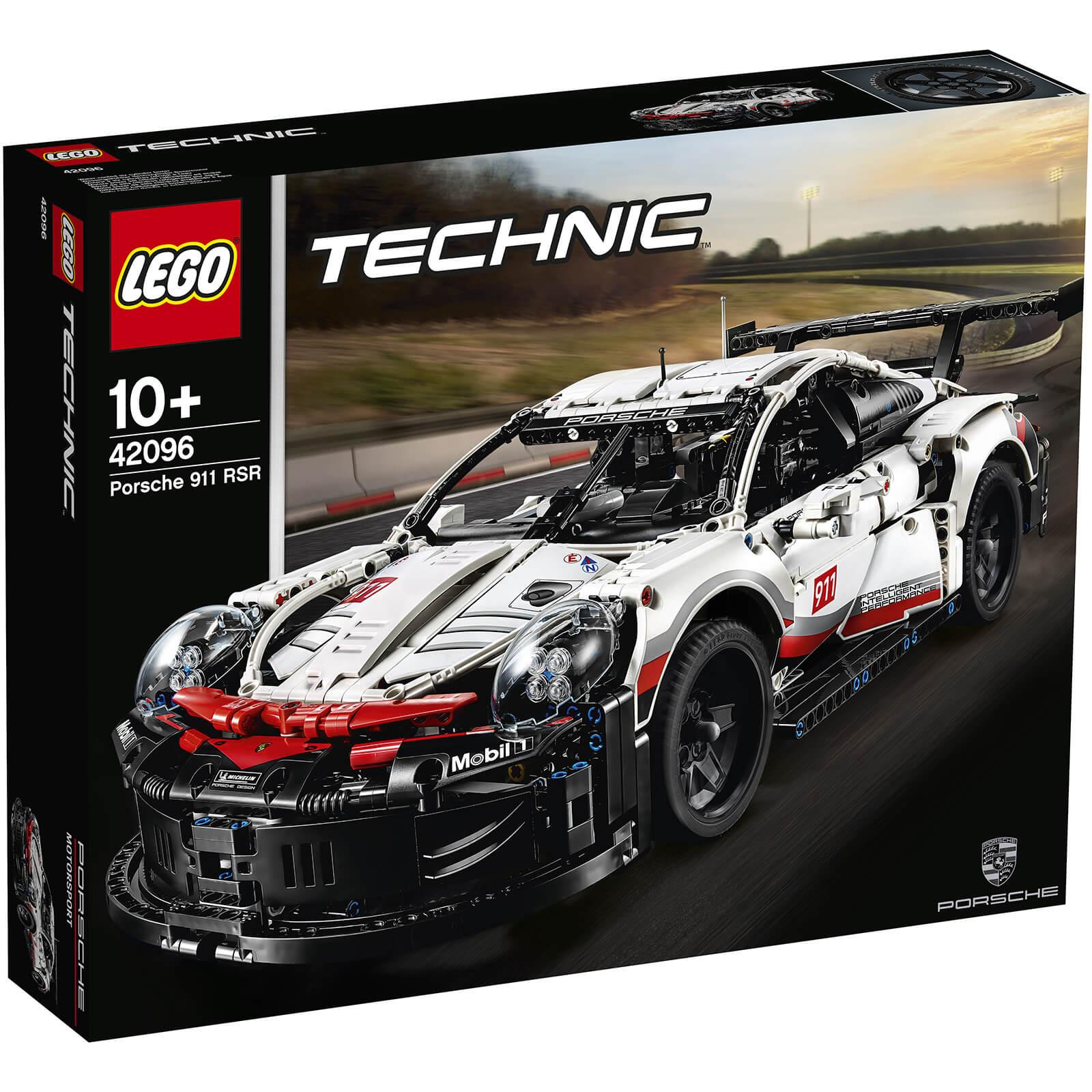 Lego Technic Porsche 911 Rsr 42096 Toys Thehutcom