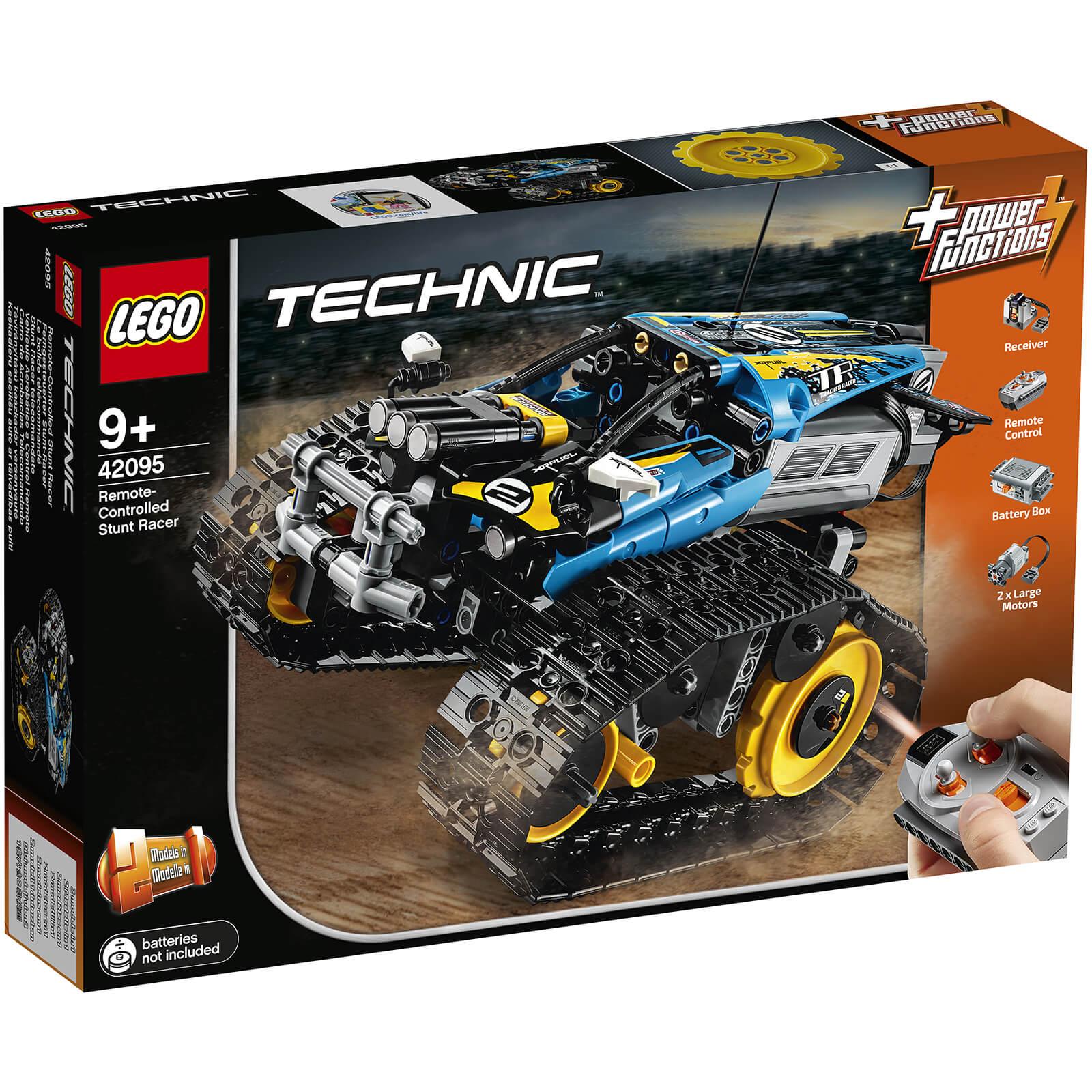 Lego Technic Remote Controlled Stunt Racer 42095 Toys Thehutcom