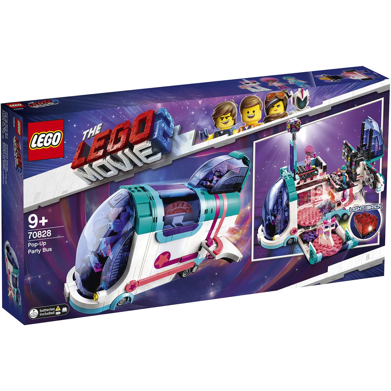 Lego Movie 2 Pop Up Party Bus 70828 Toys Thehutcom