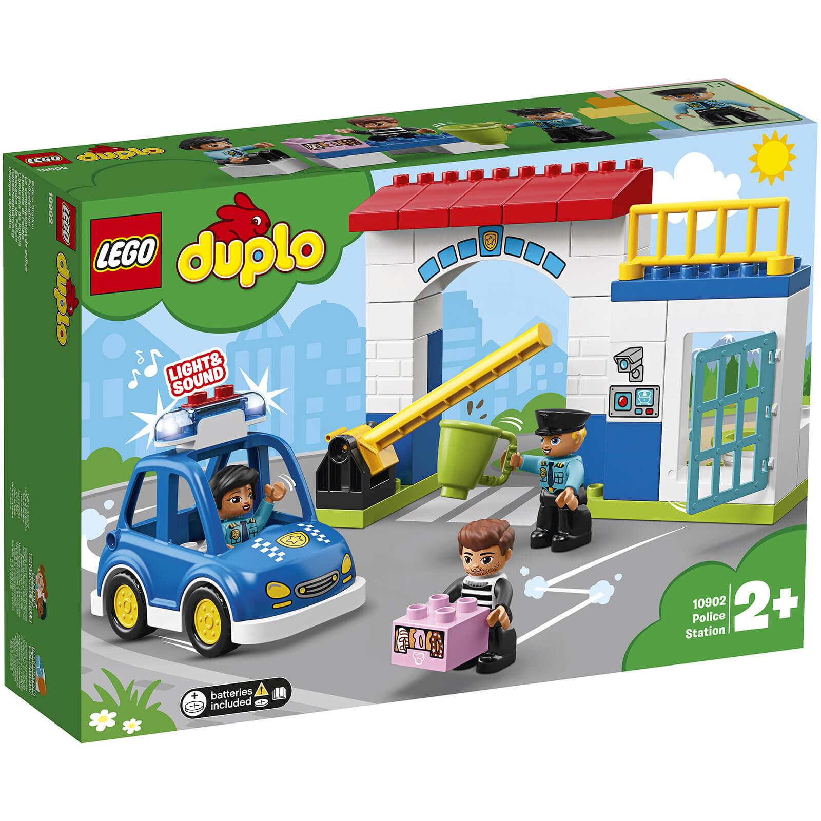 Lego Duplo Town Police Station 10902 Toys Thehutcom