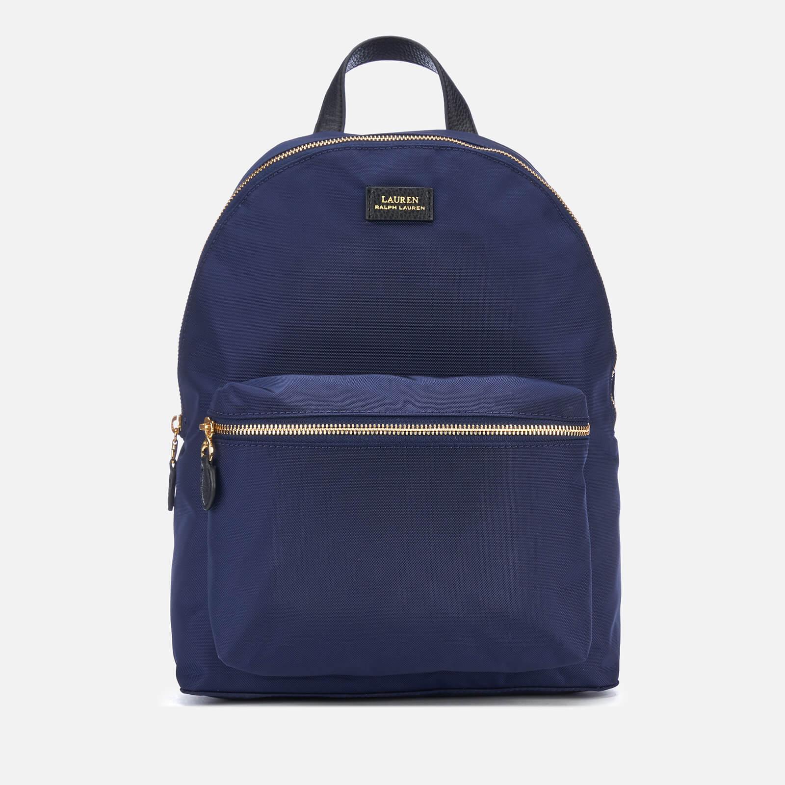 saapuvat paras suorituskykyiset urheiluvaatteet Lauren Ralph Lauren Women's Chadwick Medium Backpack - Navy