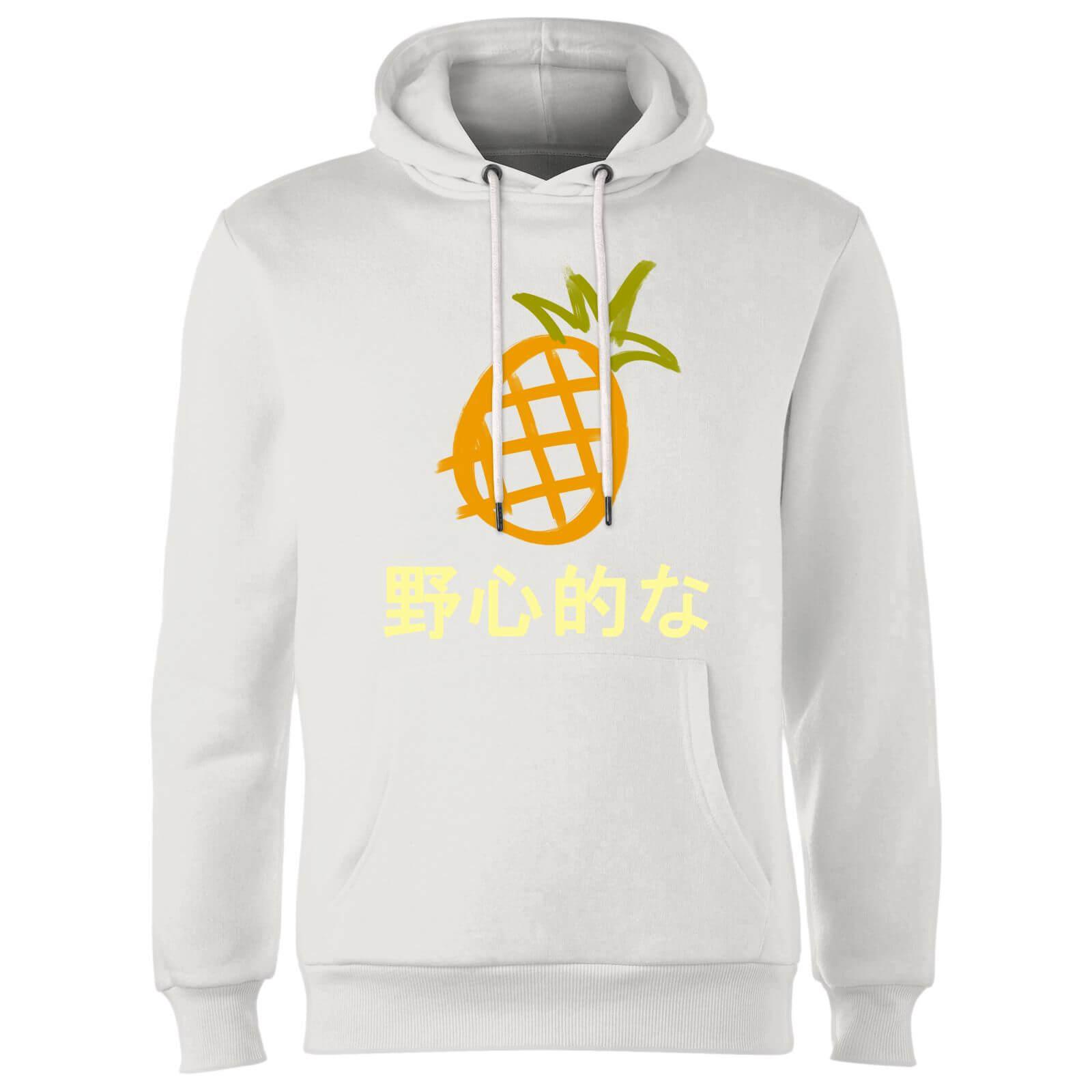 c72db70b90a Benji Pineapple Hoodie - White Clothing