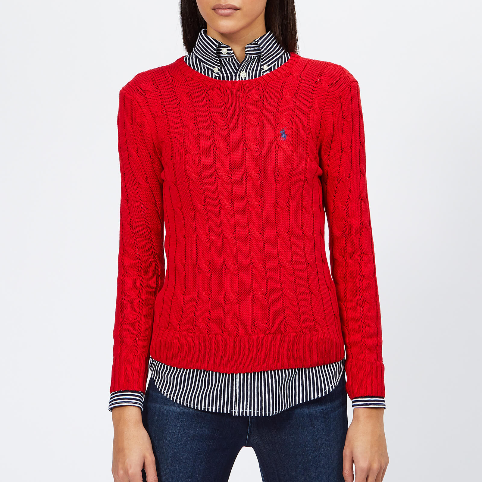 2ee5f9d4d270 Polo Ralph Lauren Women s Julianna Jumper - Red - Free UK Delivery over £50