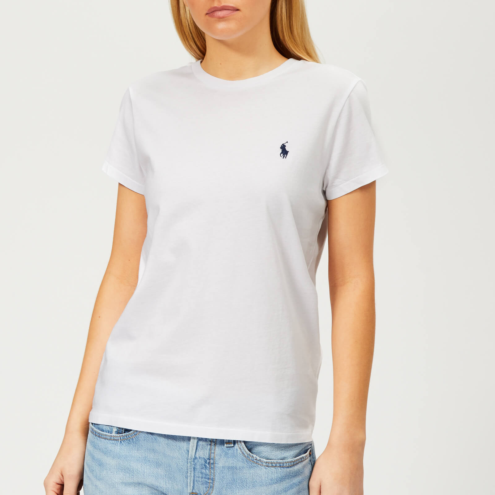 b1c245b01a Polo Ralph Lauren Women's Logo T-Shirt - White
