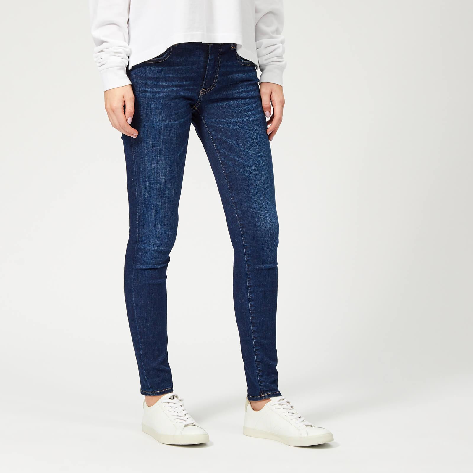 96ec683d31d9 Polo Ralph Lauren Women s Super Skinny Denim Jeans - Blue - Free UK  Delivery over £50