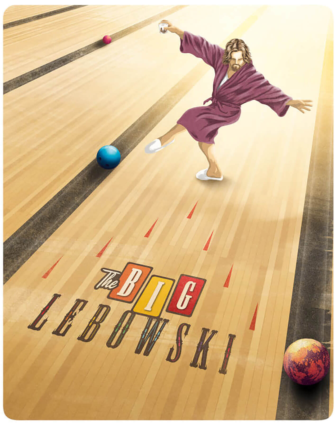 The Big Lebowski - Zavvi Exklusives 4K Ultra HD & Blu-ray Steelbook