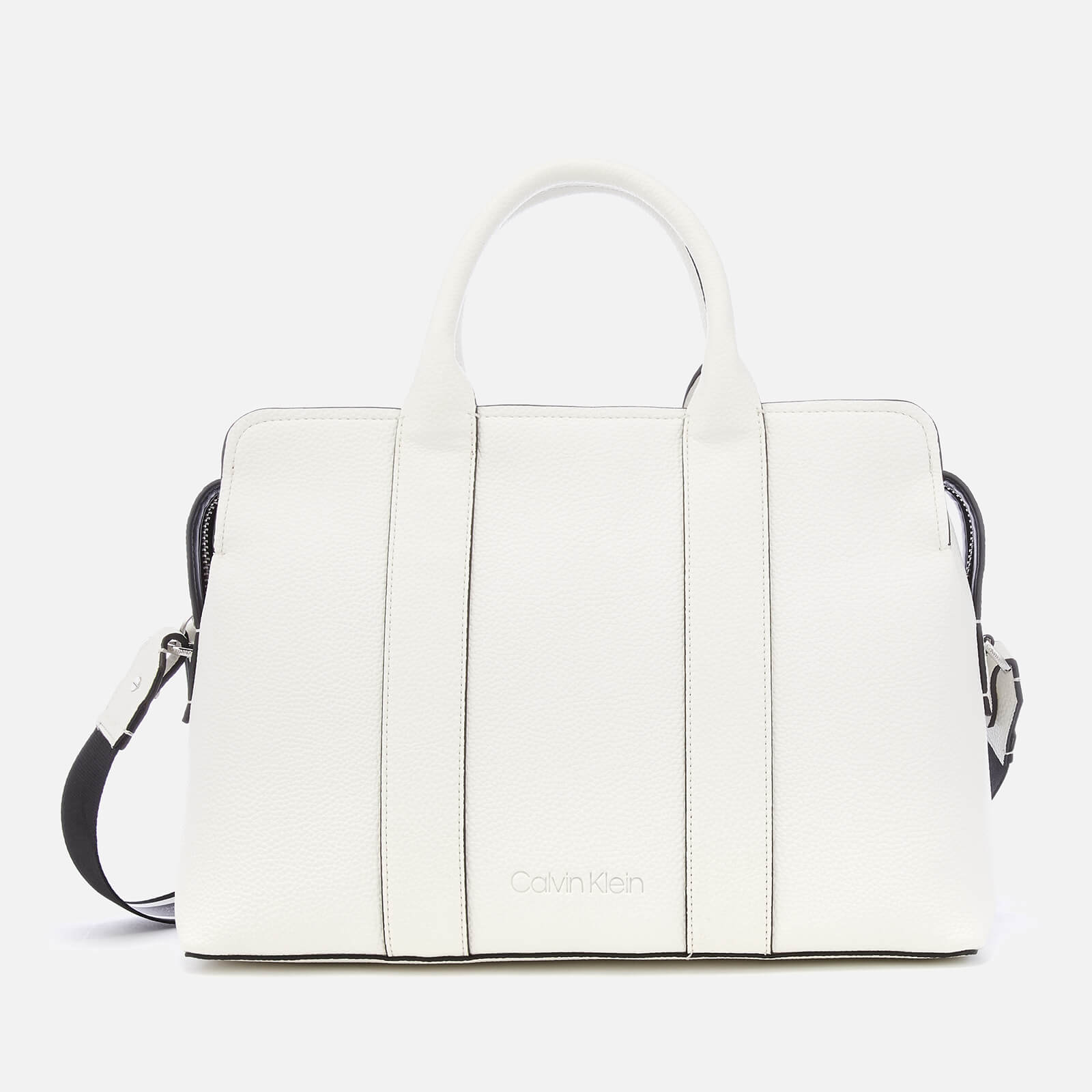 4567193b5a7689 Calvin Klein Women's Race Tote Bag - Bright White