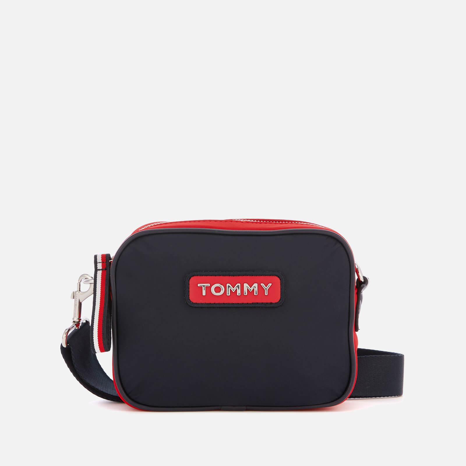 604f080a Tommy Hilfiger Women's Varsity Nylon Crossover Bag - Corporate