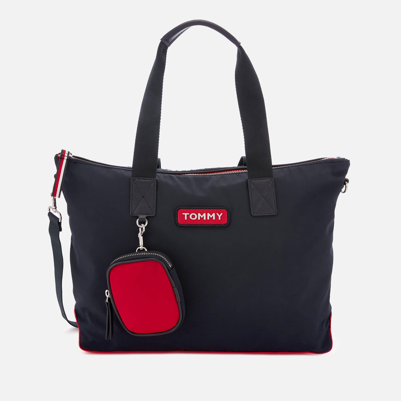 11ef18ac Tommy Hilfiger Women's Varsity Nylon Tote Bag - Corporate