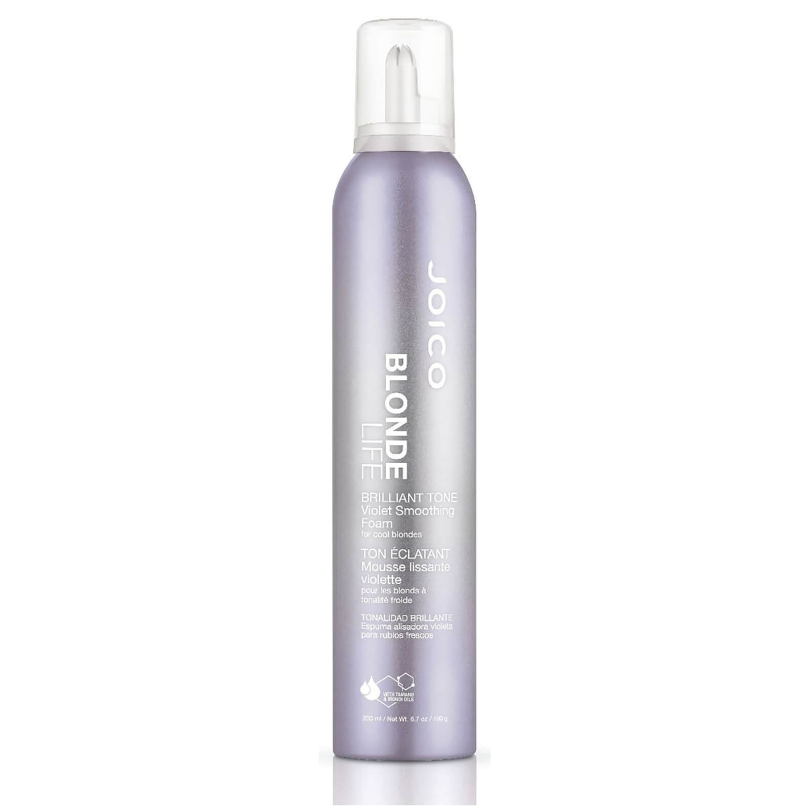 Joico Blonde Life Brilliant Tone Violet Smoothing Foam for Cool Blondes  200ml  490ece332e6f