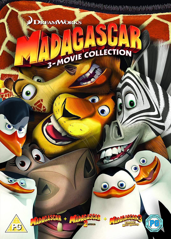 Madagascar (2005)/ Madagascar 2: The Lost Island/ Madagascar 3 - 2018  Artwork Refresh
