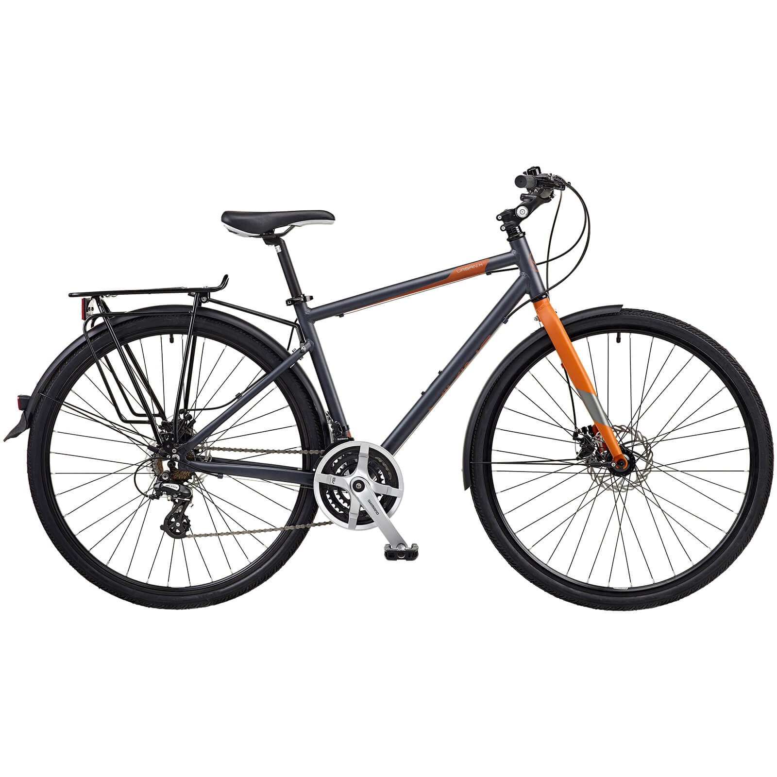 Viking Urban-X Gents 21sp Aluminium Trekking Bike 700c Wheel