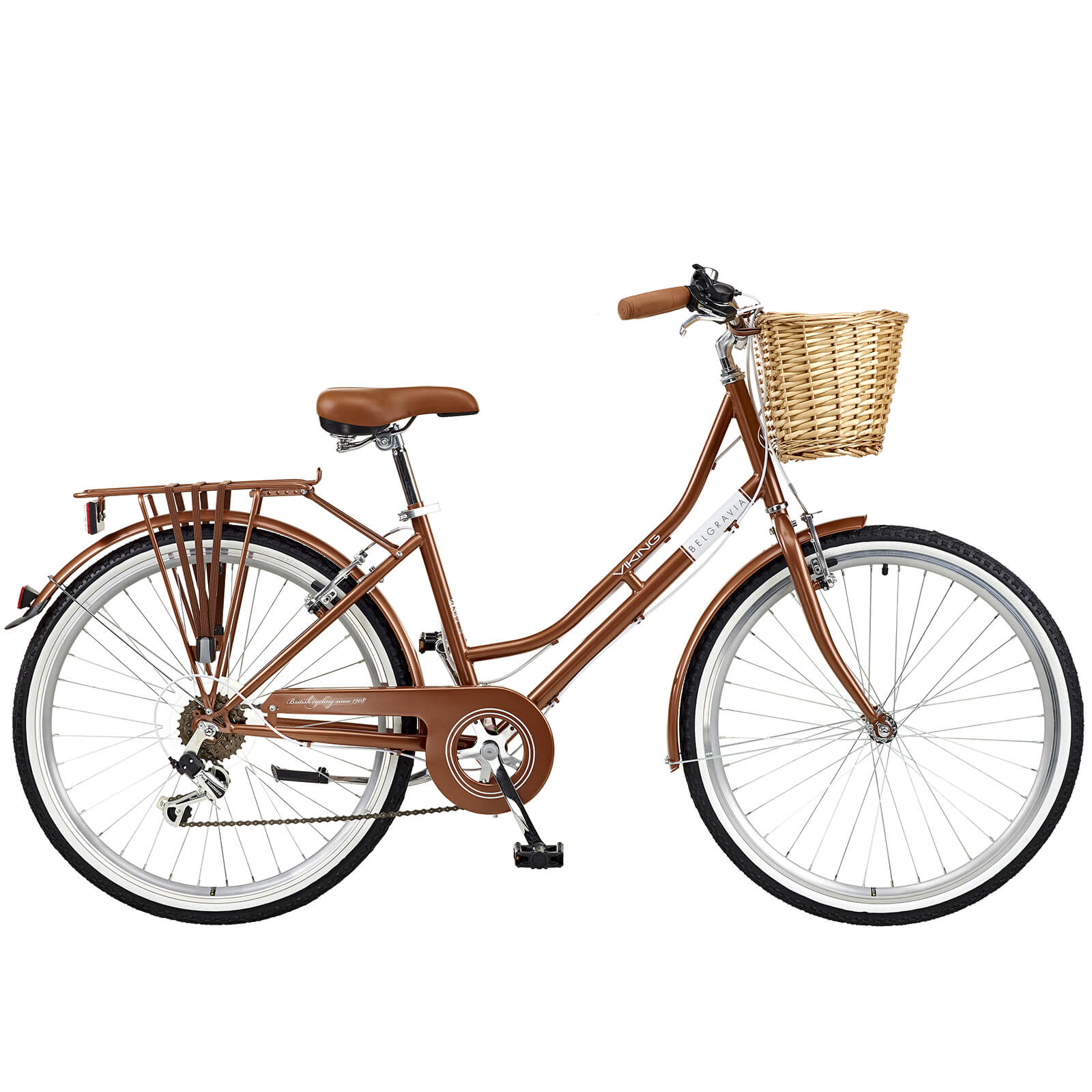 15a864ded Viking Belgravia Ladies Traditional Heritage 6sp Bike - Copper 26