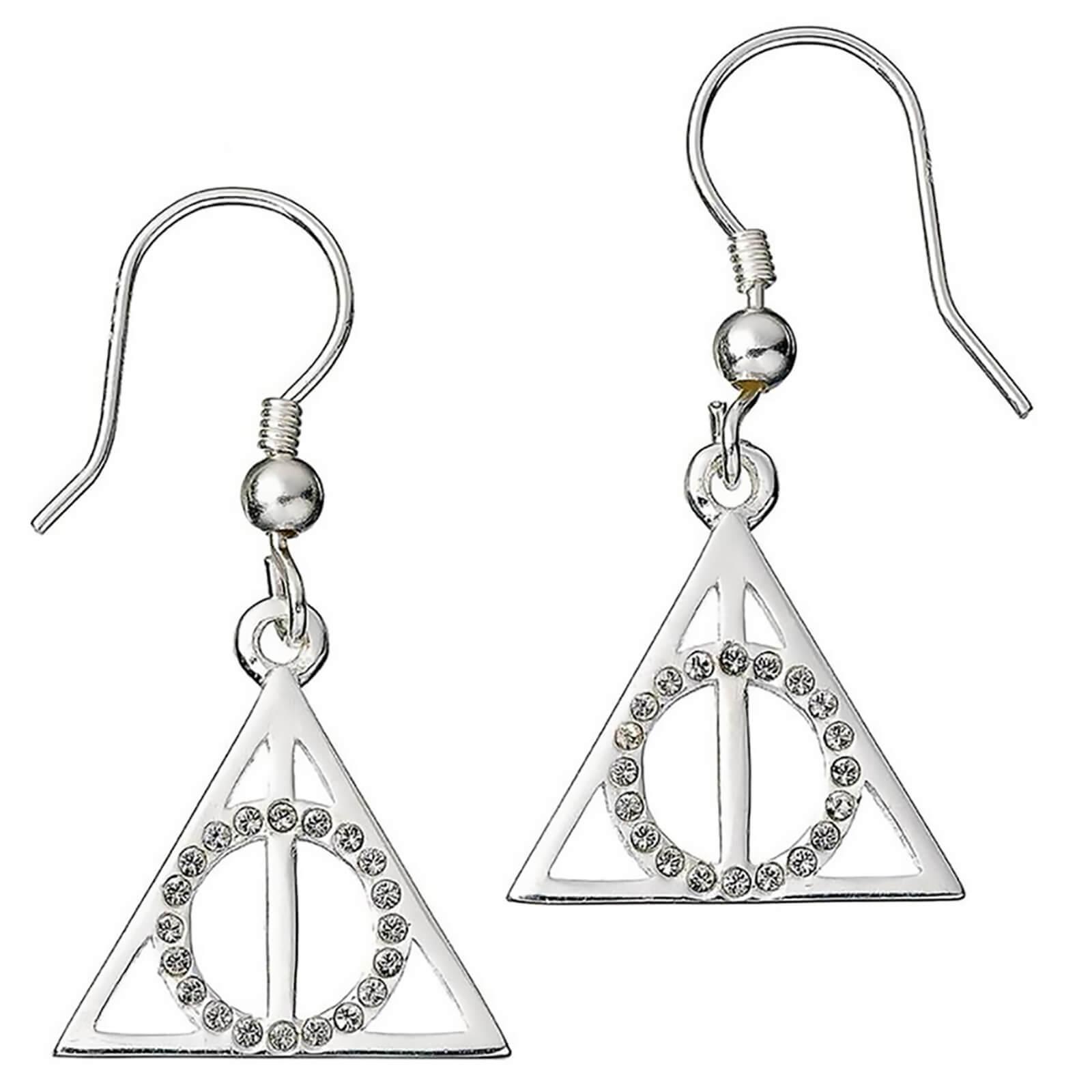 ea16dcc32 Harry Potter Deathly Hallows Earrings | My Geek Box