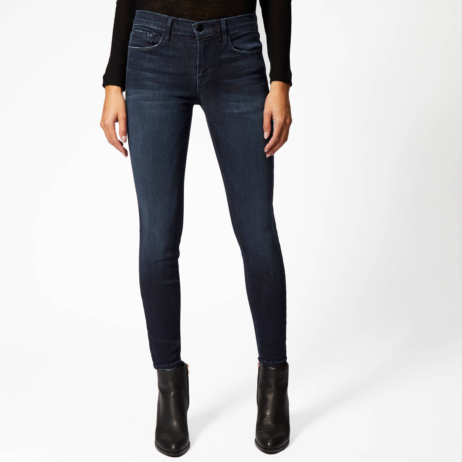 cd3656f72752 Frame Women s Le Skinny de Jeanne Crop Jeans - St. Jones - Free UK Delivery  over £50