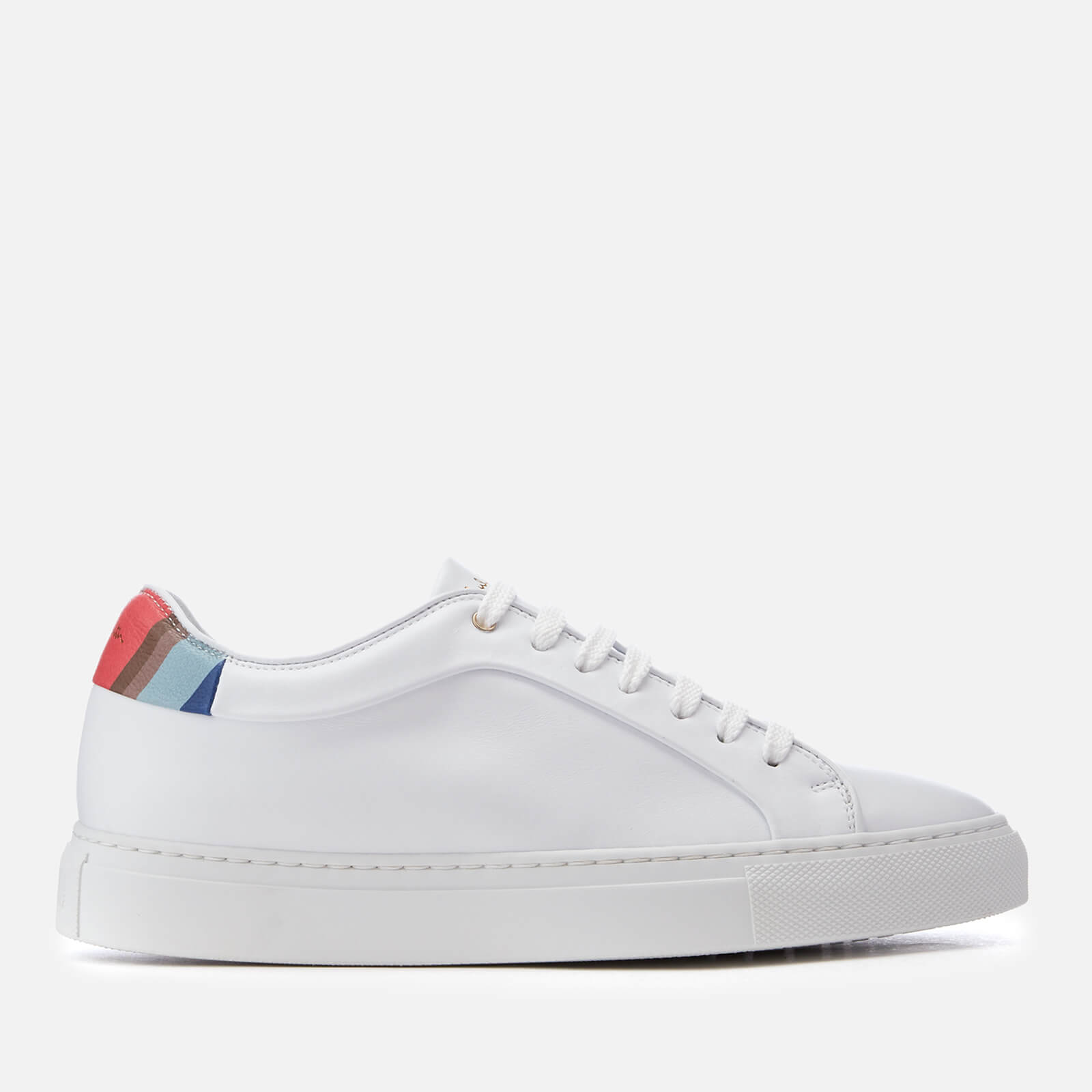 Basso Leather Cupsole Trainers